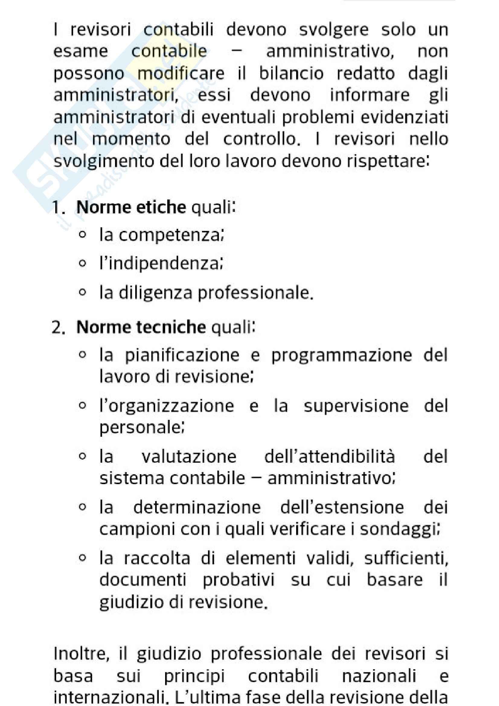 Bilancio e le analisi di bilancio, Economia aziendale e ragioneria generale Pag. 6