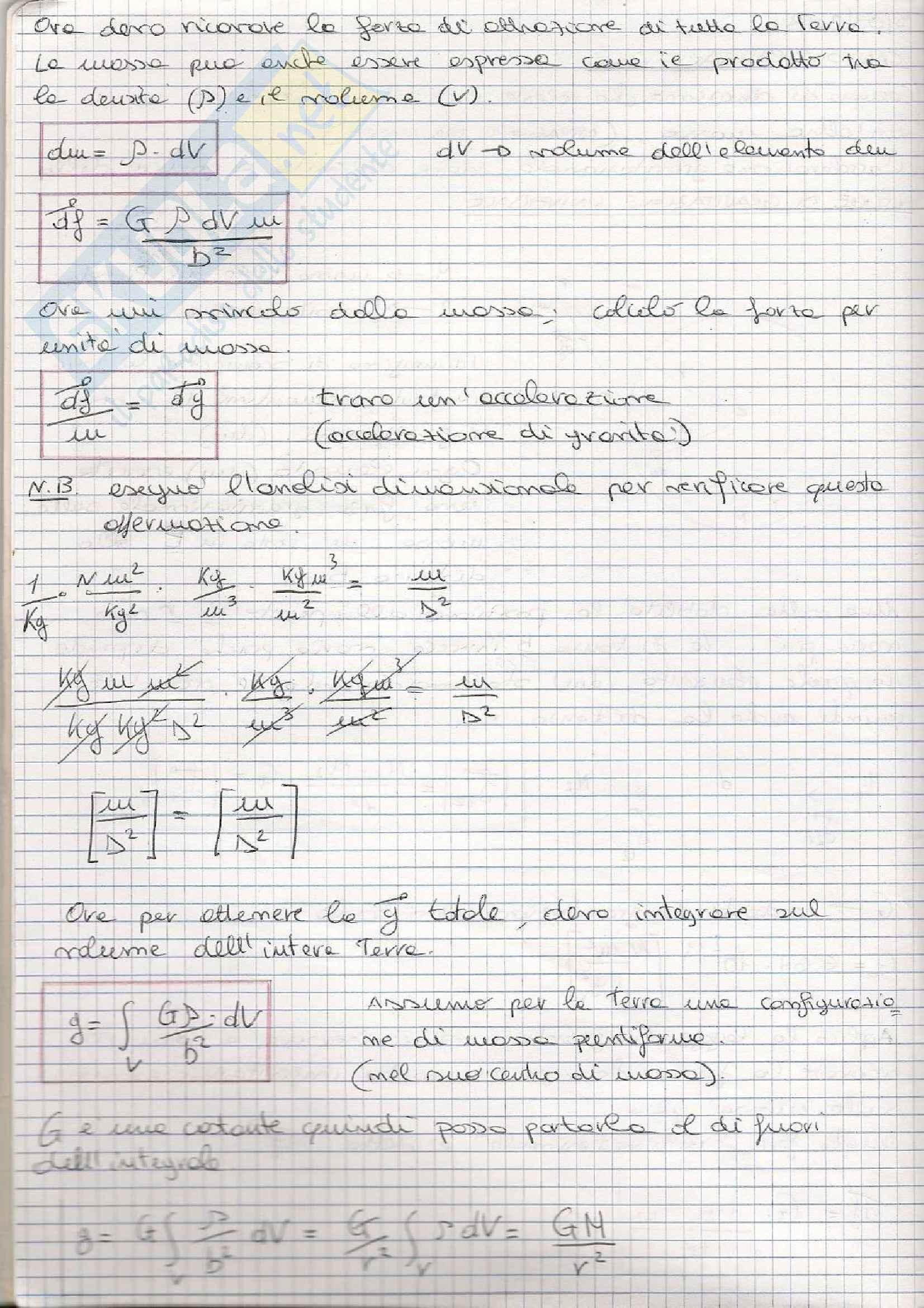 Fisica Terrestre e laboratorio - Appunti prima parte Pag. 2