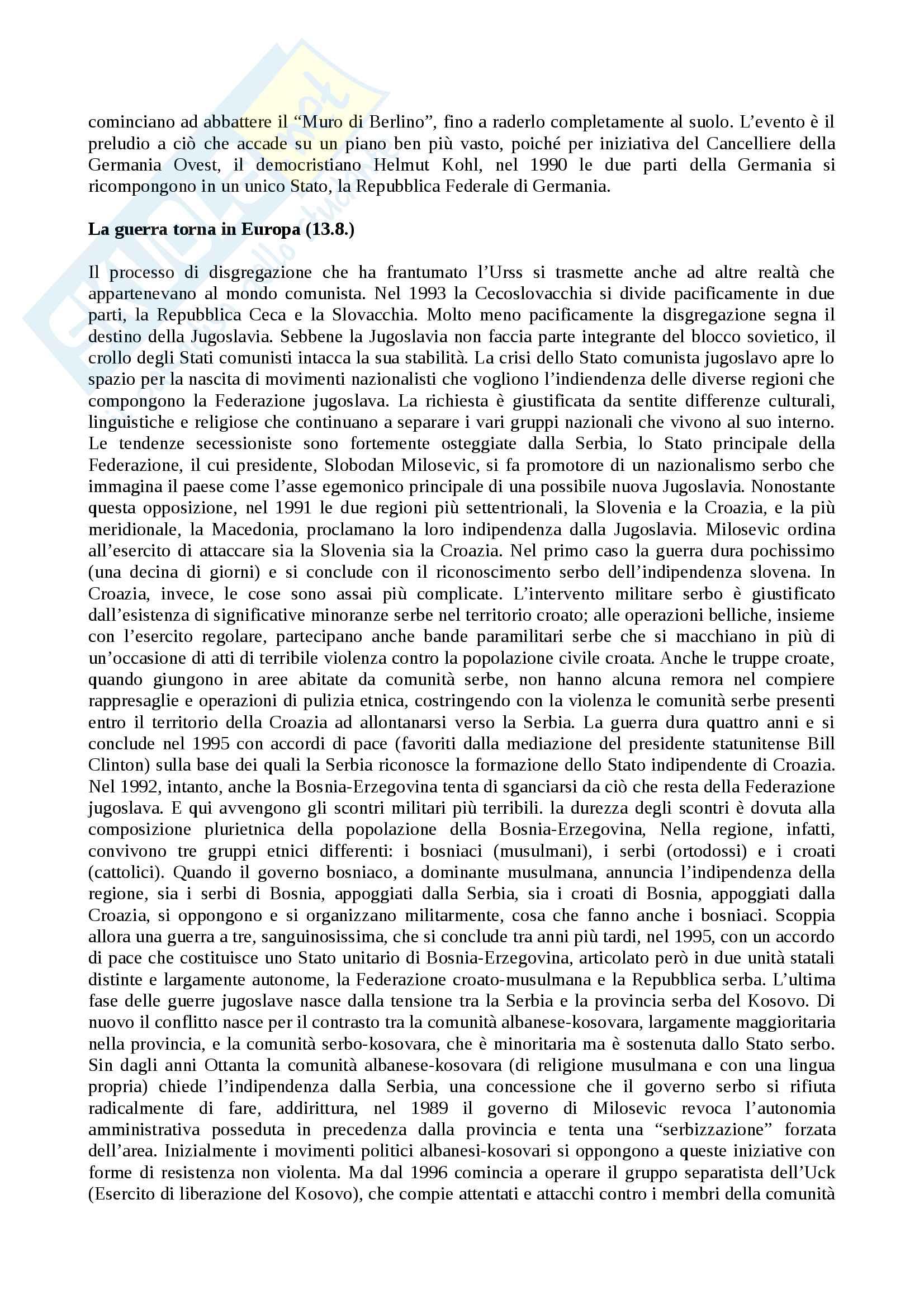 Appunti di storia contemporanea sul novecento Pag. 81