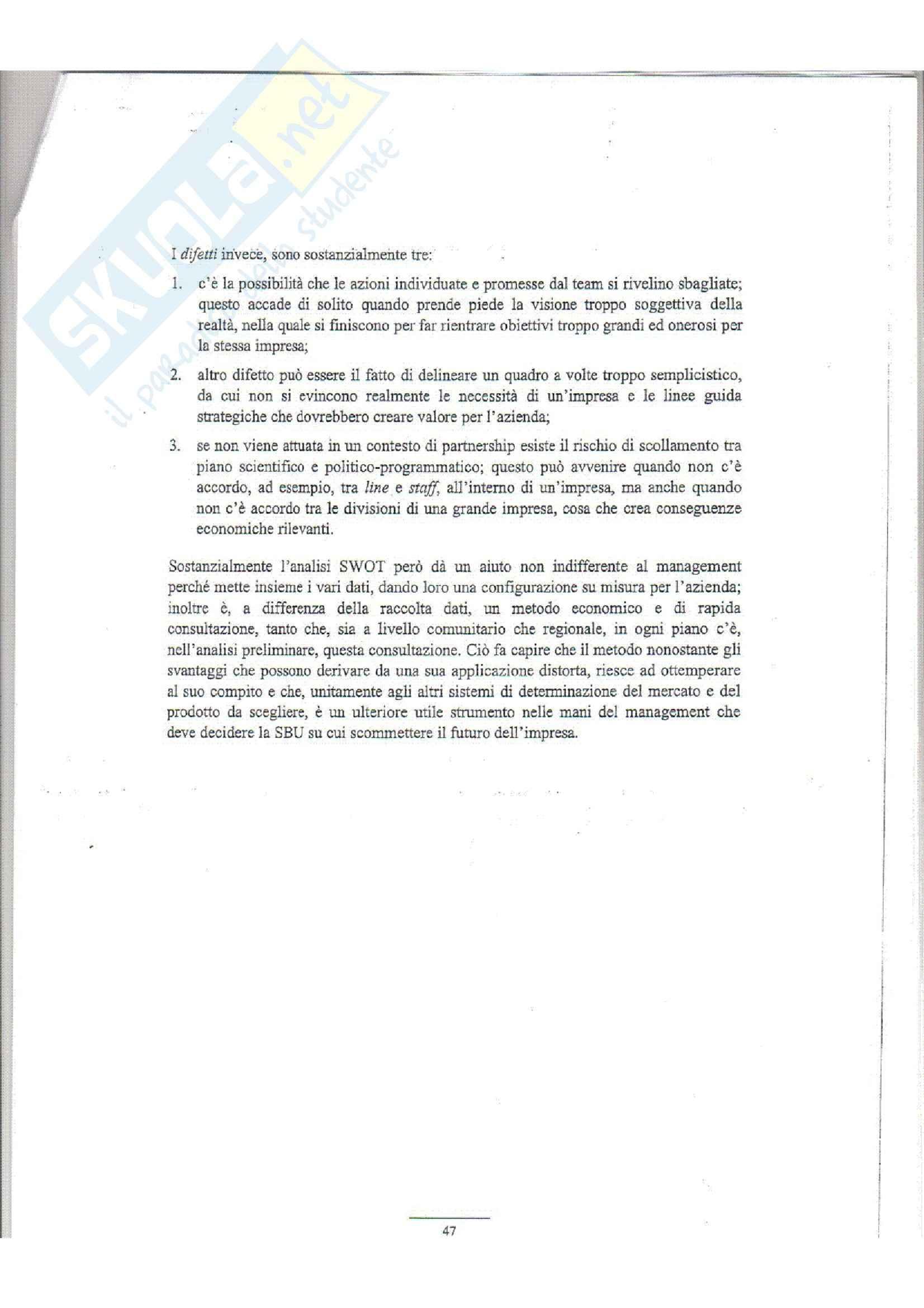 dispensa L. Iandoli Economia ed organizzazione Aziendale