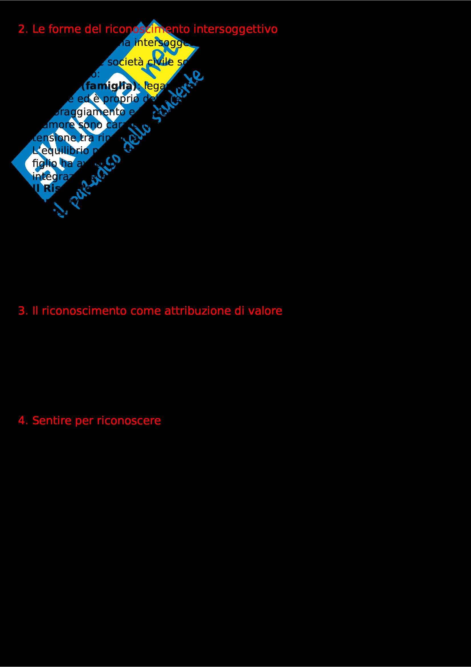 Riassunto esame Pedagogia Sociale e di Comunità, prof. P. Dusi Pag. 2