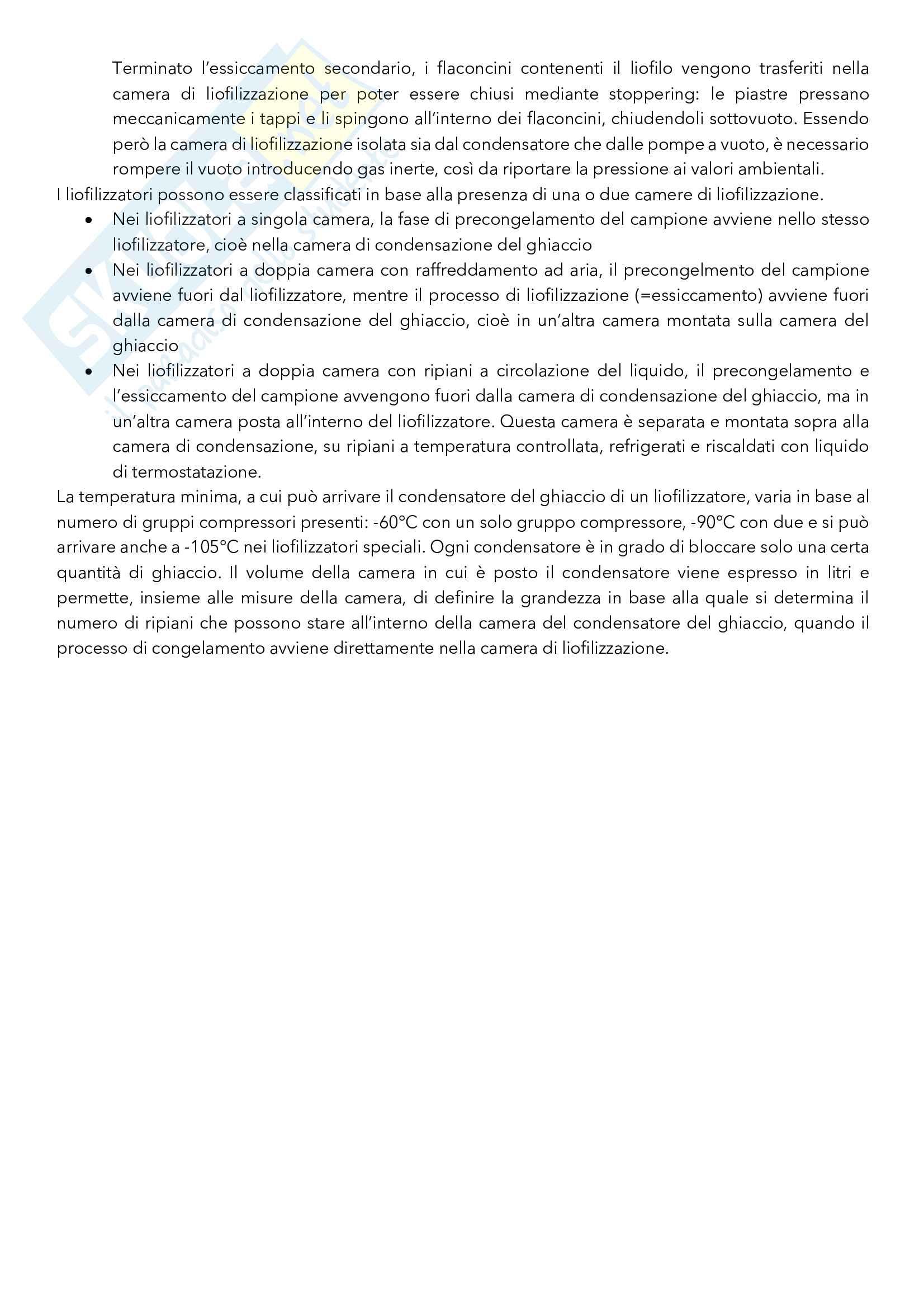 Argomenti principali di Tecnica ed Impianti della Produzione Farmaceutica Pag. 36