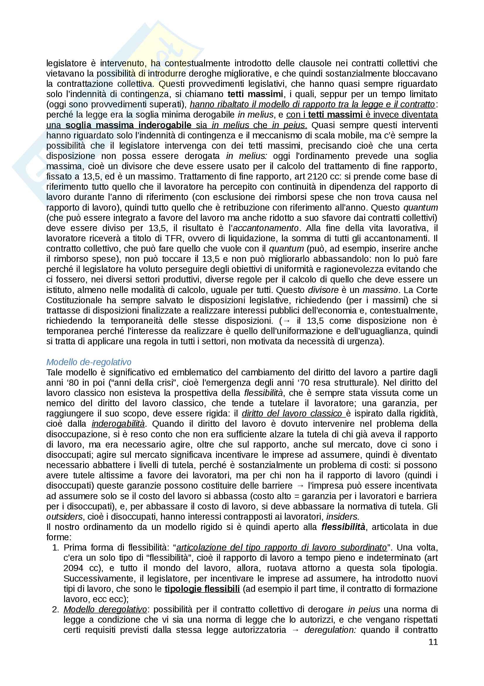 Appunti di Diritto del Lavoro Pag. 11