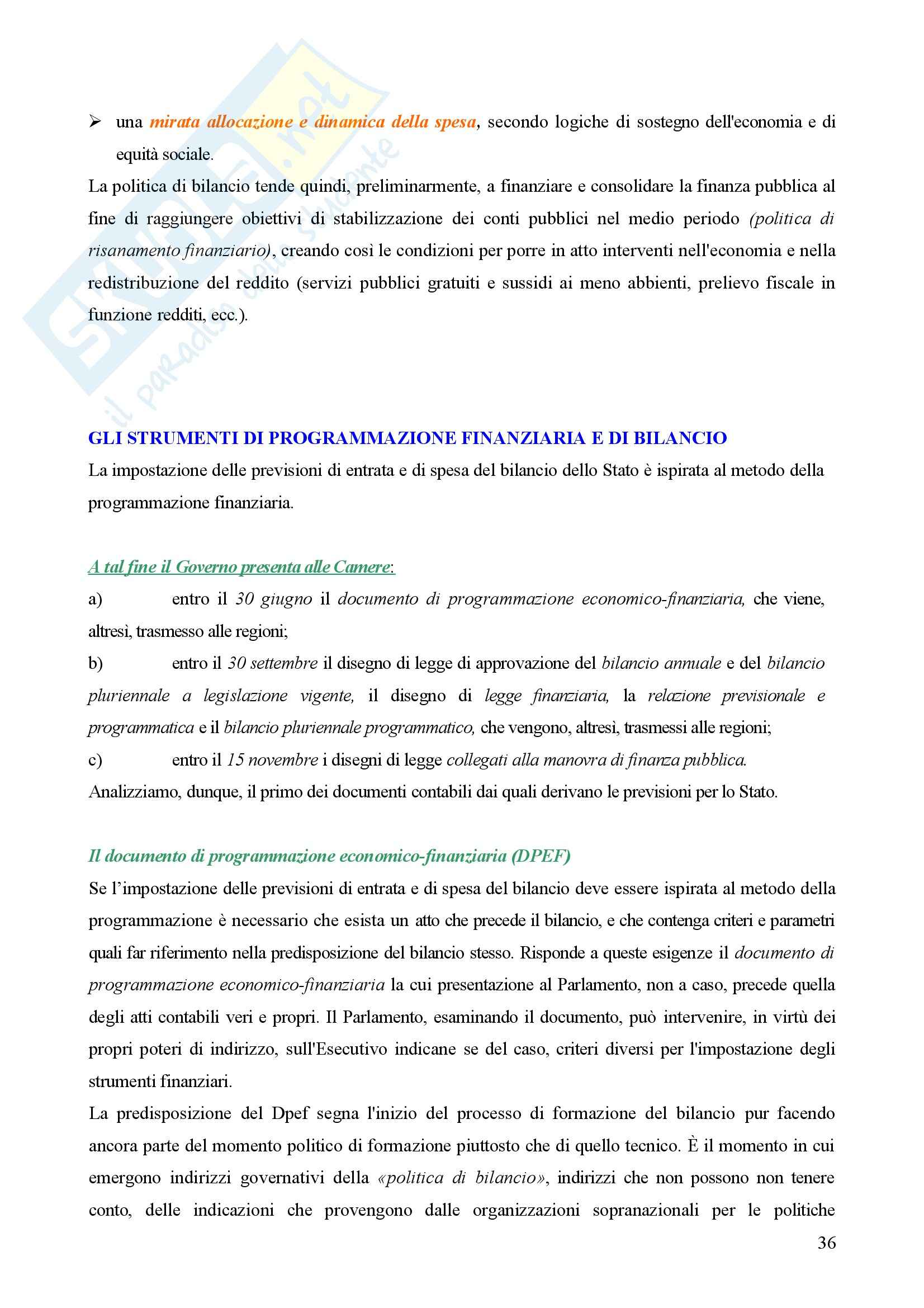 Contabilità pubblica - Compendio Pag. 36