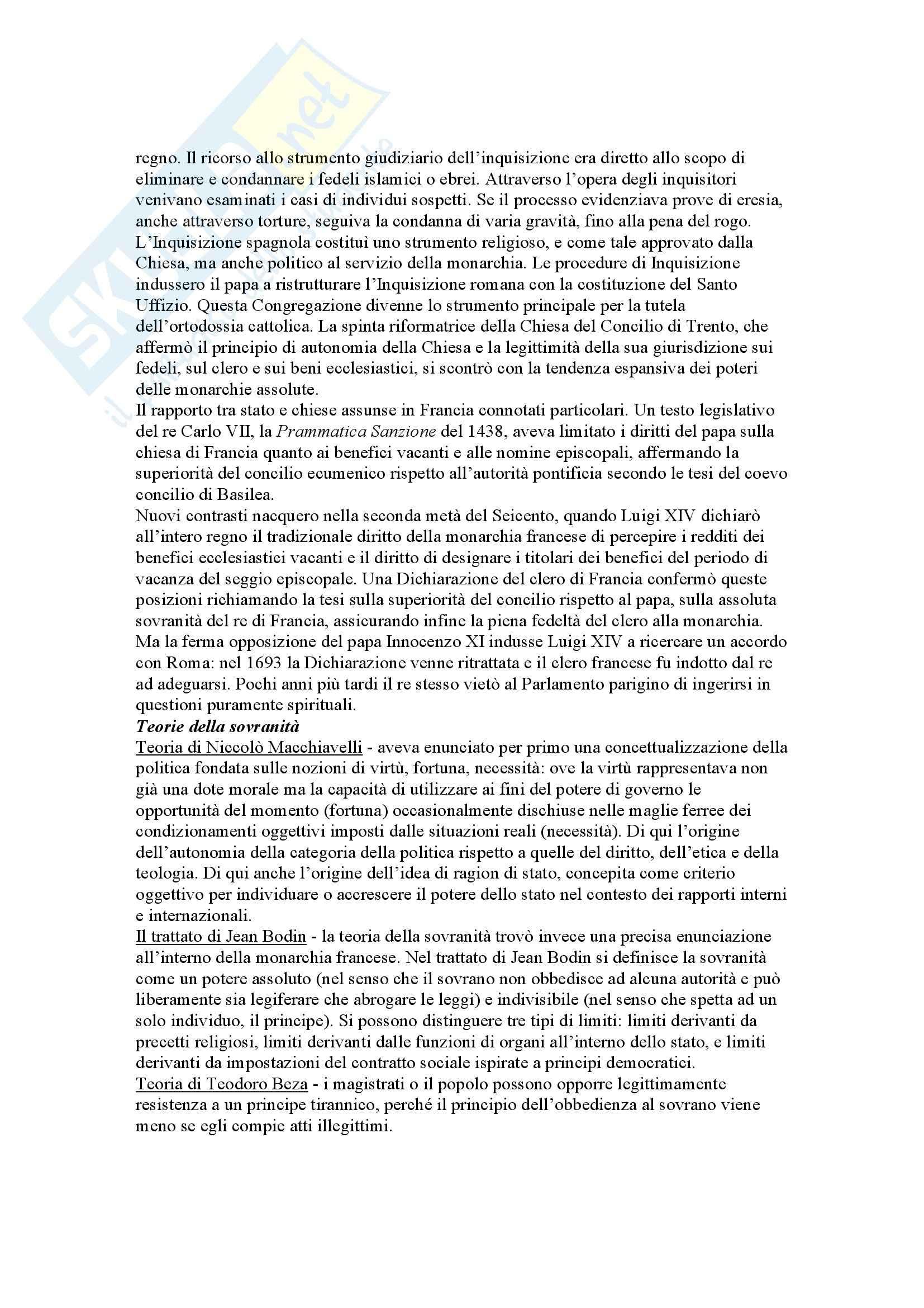 Riassunto esame Storia del diritto, prof. Chiodi, libro consigliato Storia del diritto in Europa, Padoa Schioppa Pag. 2