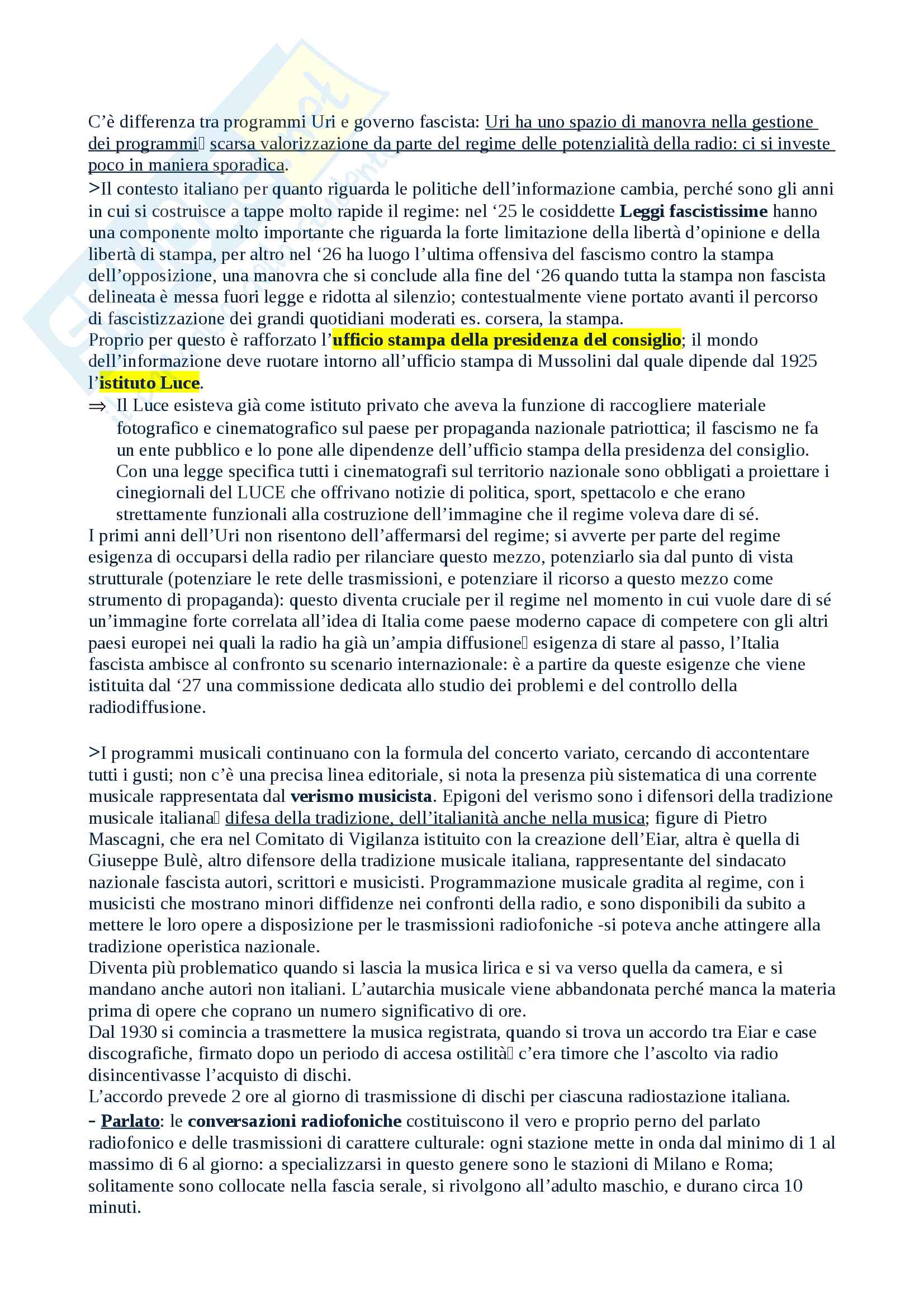 Salvatici Storia della radio e della televisione Pag. 11