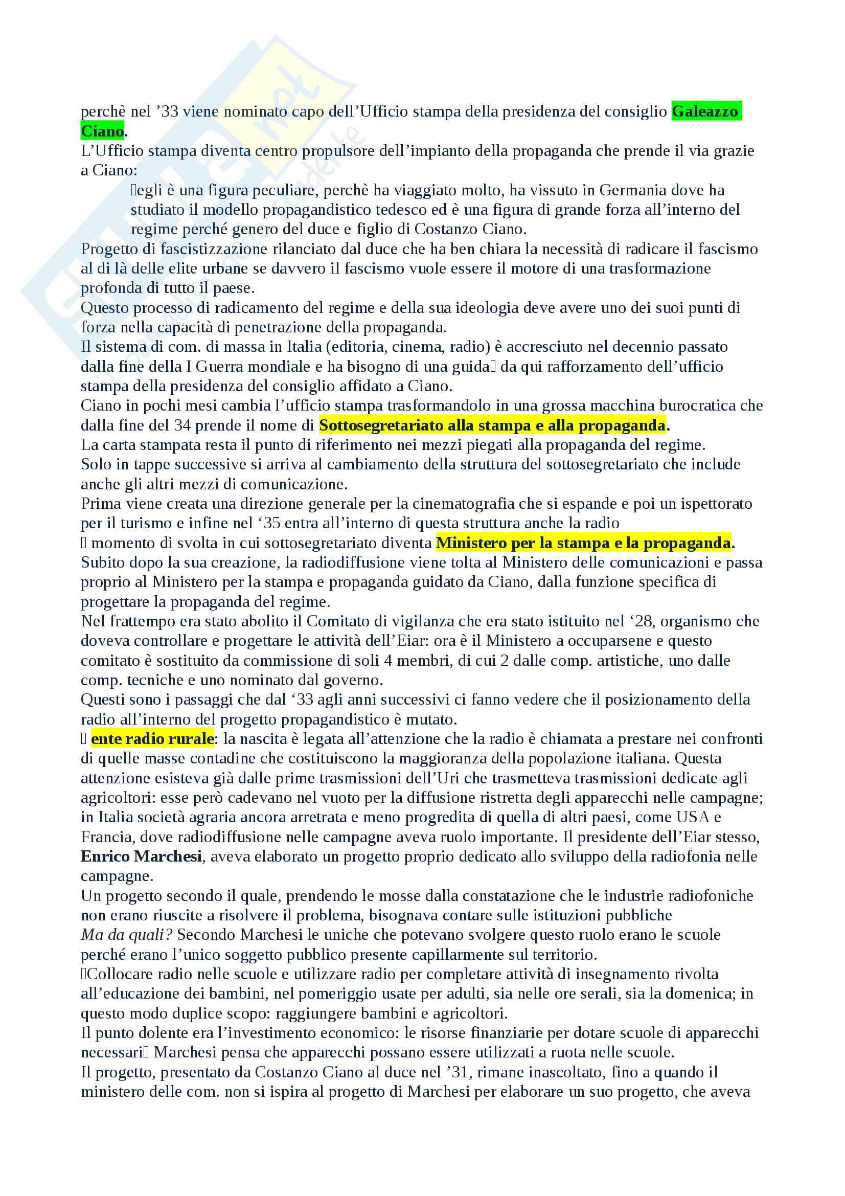 Salvatici Storia della radio e della televisione Pag. 16