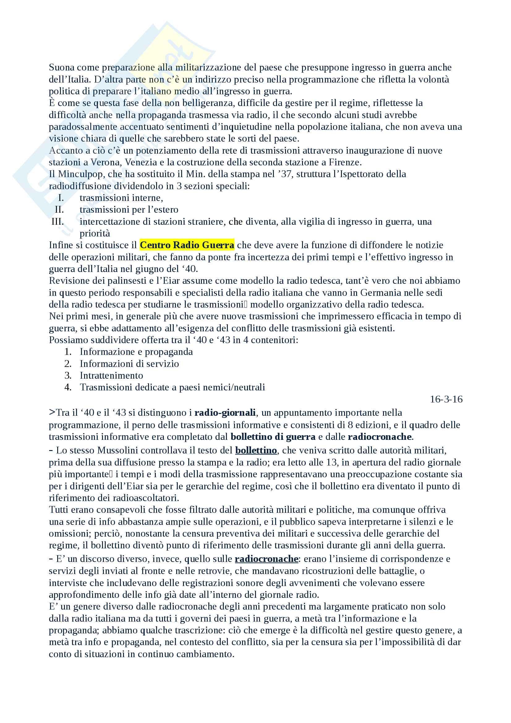 Salvatici Storia della radio e della televisione Pag. 26