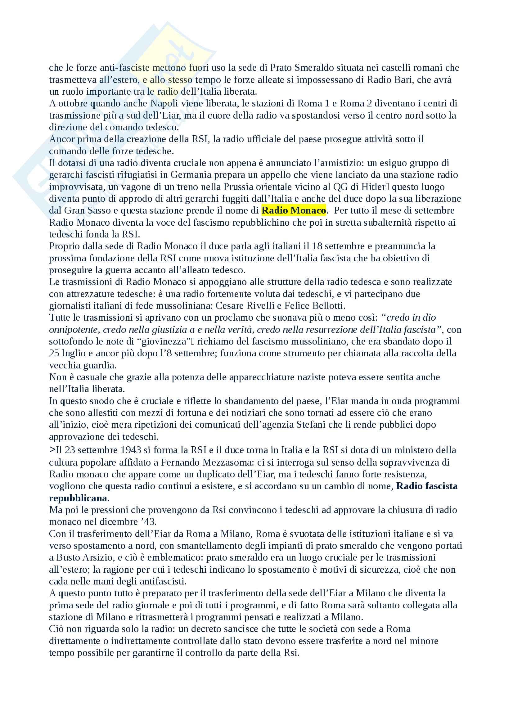 Salvatici Storia della radio e della televisione Pag. 31