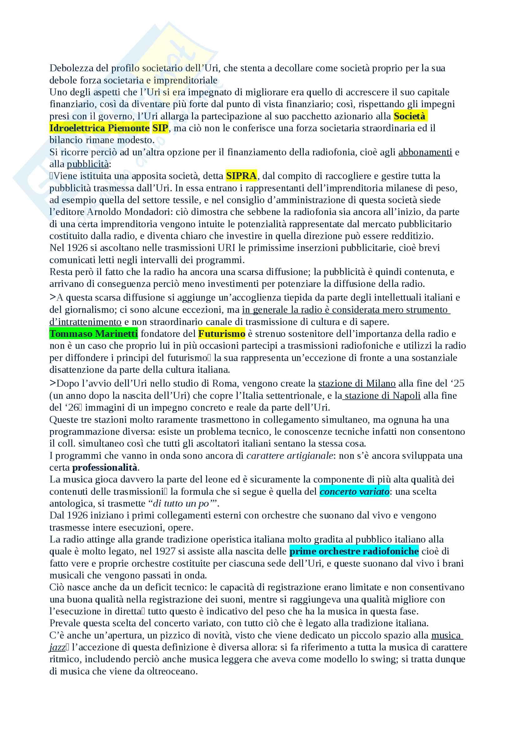 Salvatici Storia della radio e della televisione Pag. 6
