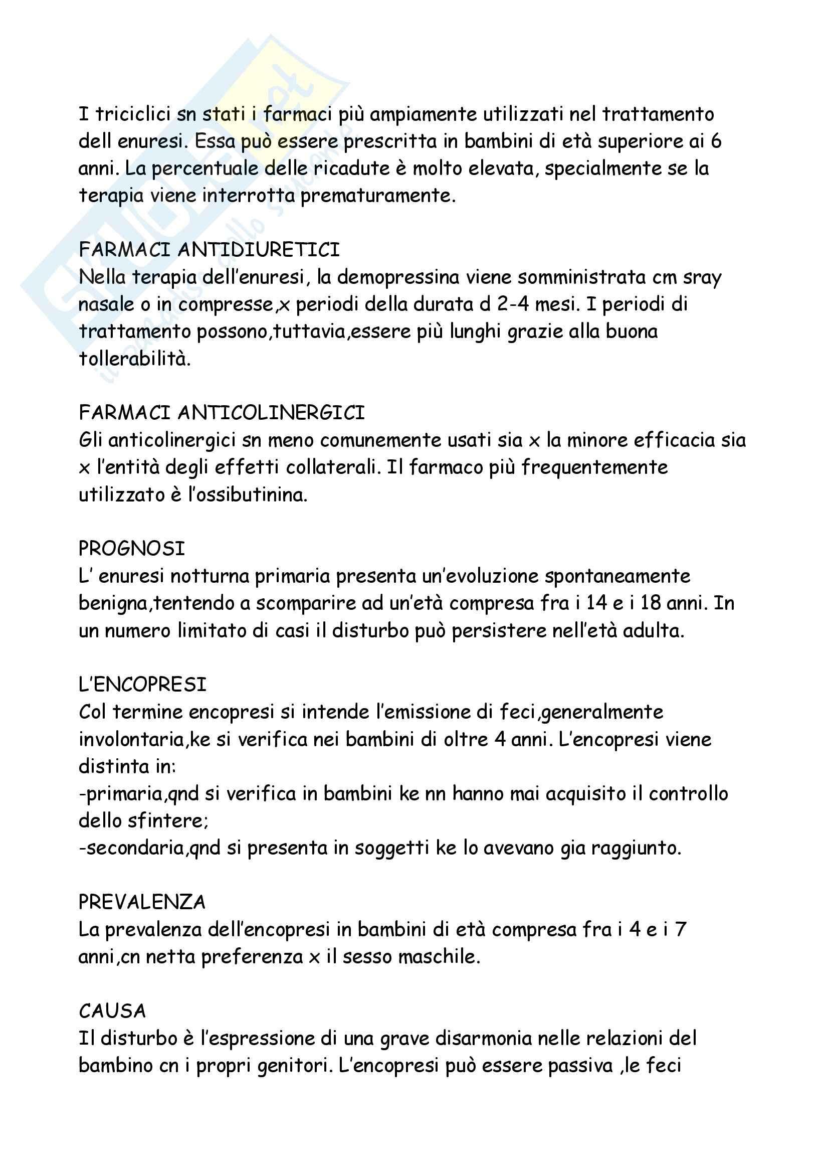 Neuropsichiatria Infantile Pag. 101