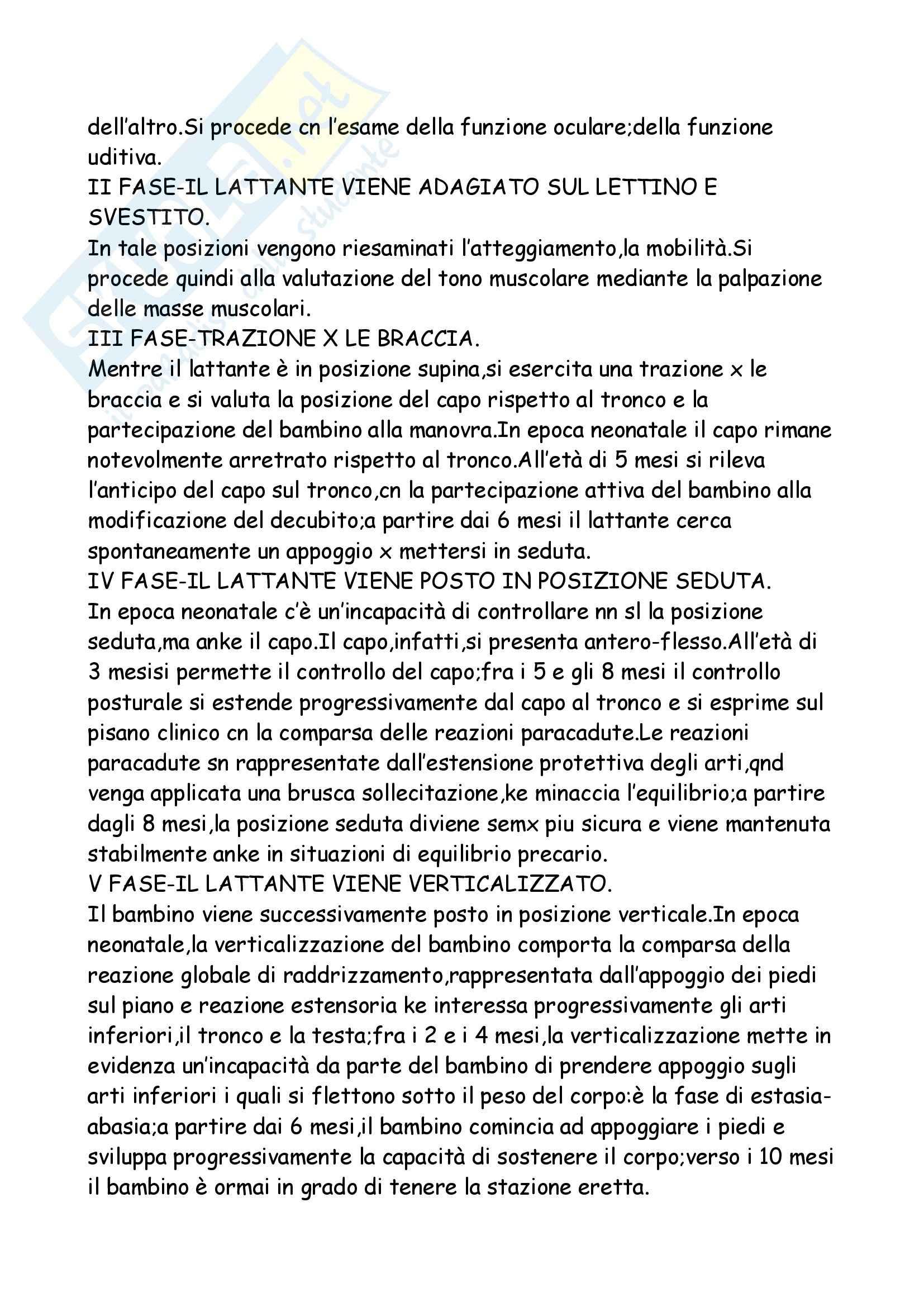 Neuropsichiatria Infantile Pag. 16