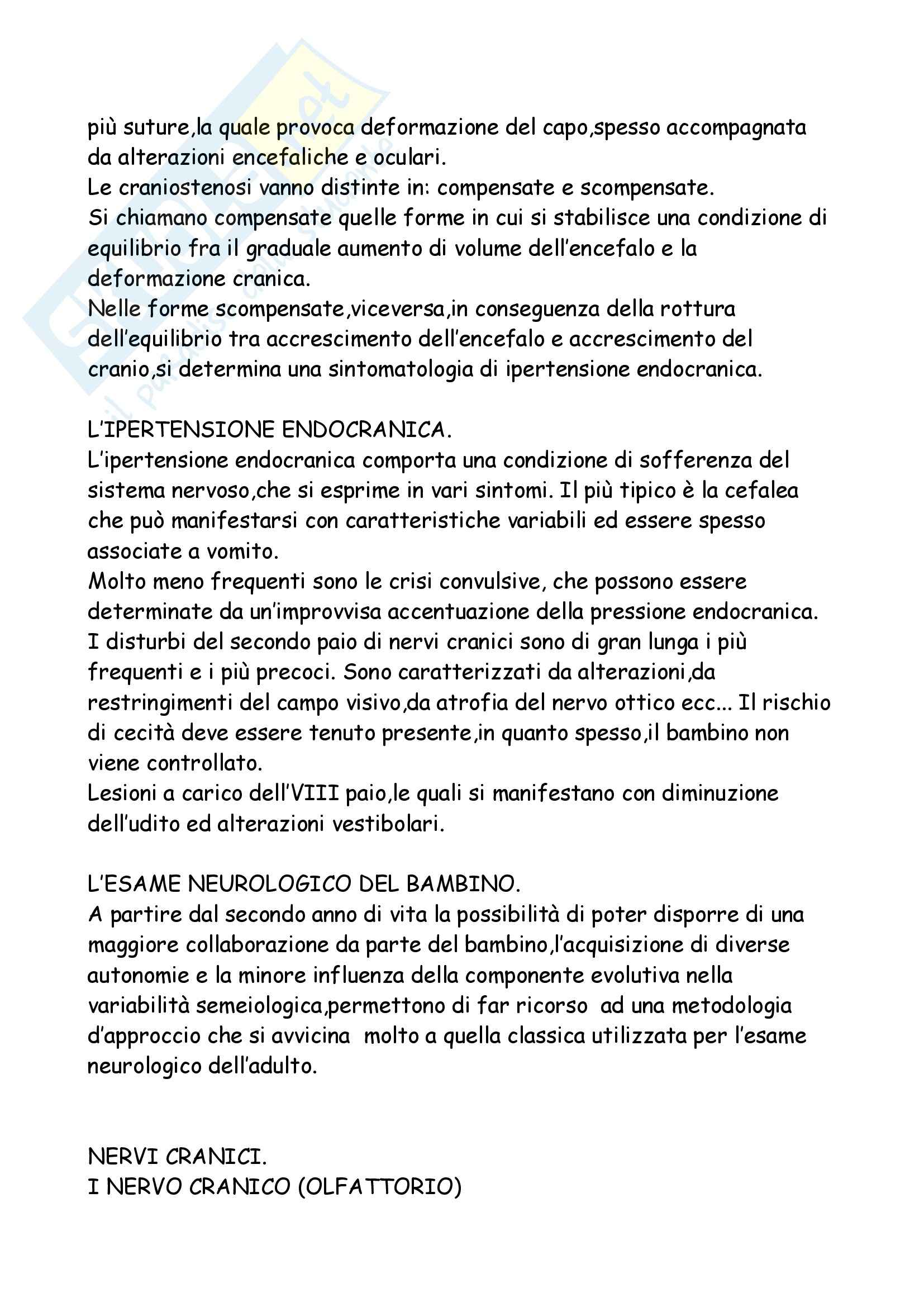 Neuropsichiatria Infantile Pag. 21
