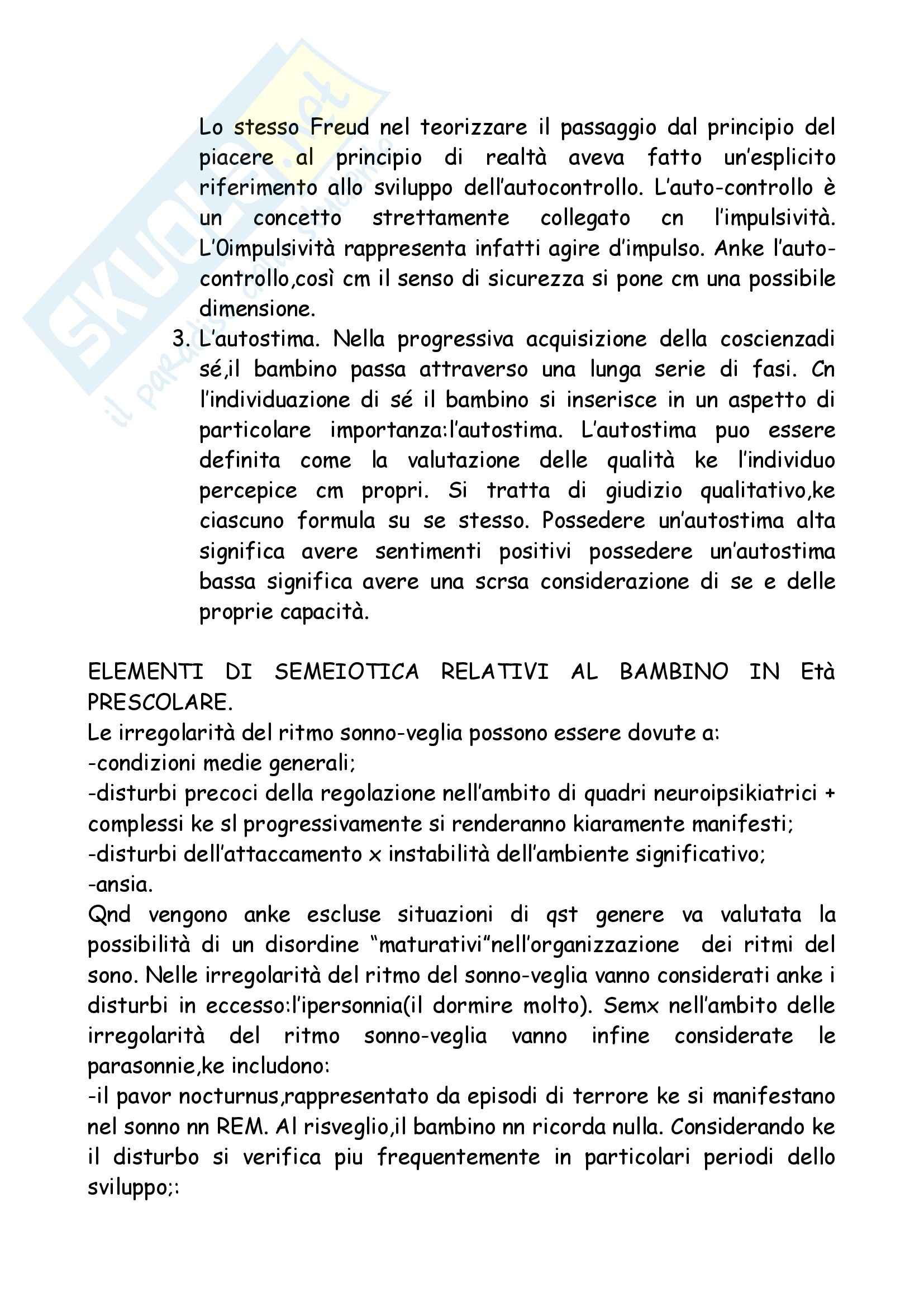 Neuropsichiatria Infantile Pag. 41
