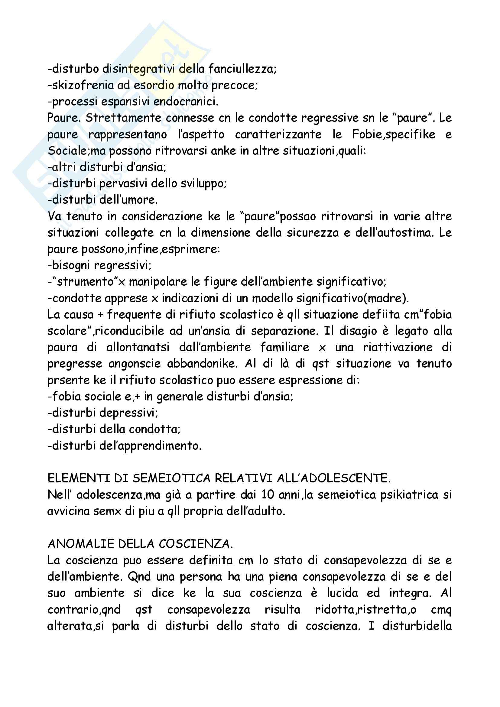 Neuropsichiatria Infantile Pag. 46