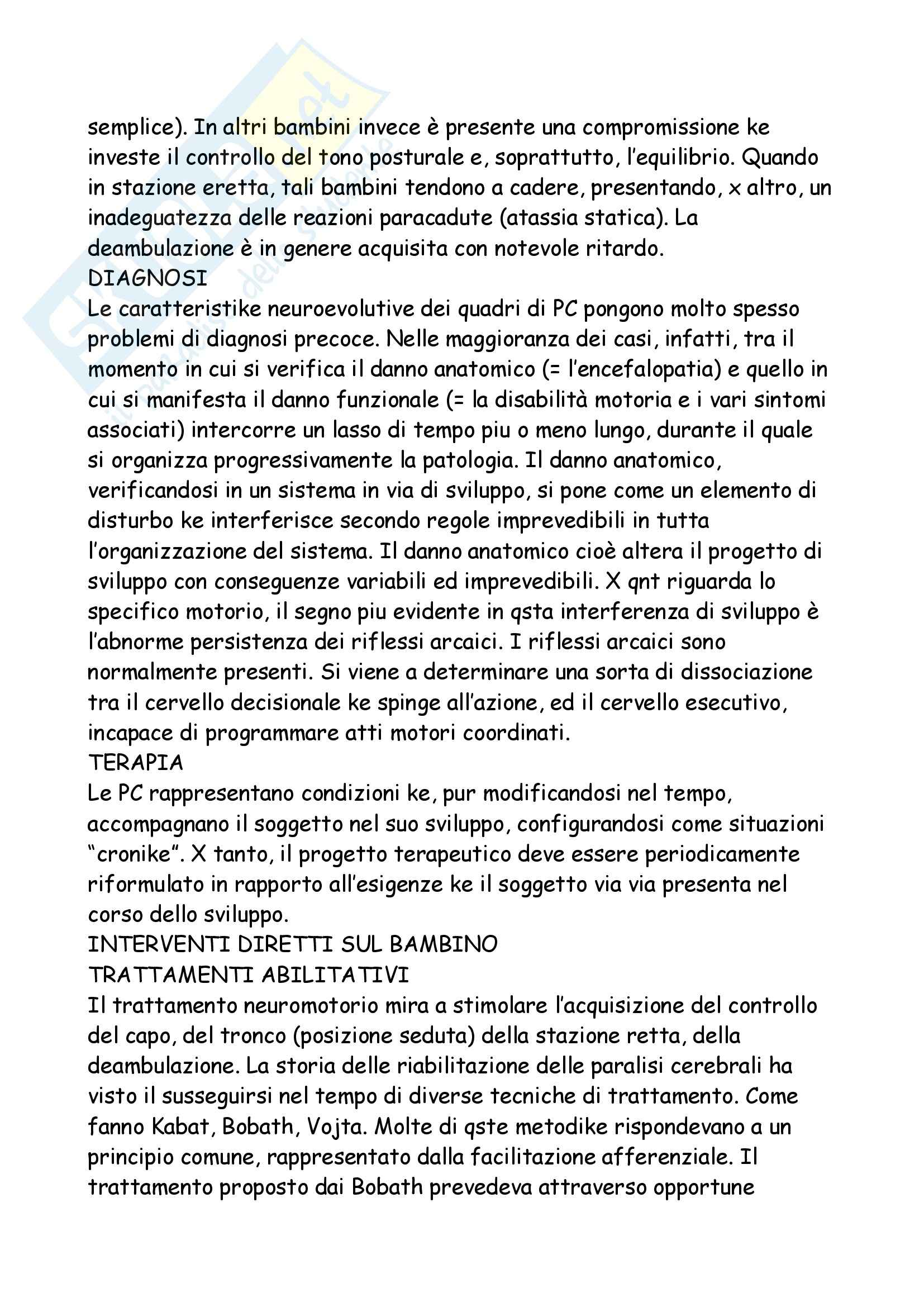 Neuropsichiatria Infantile Pag. 66