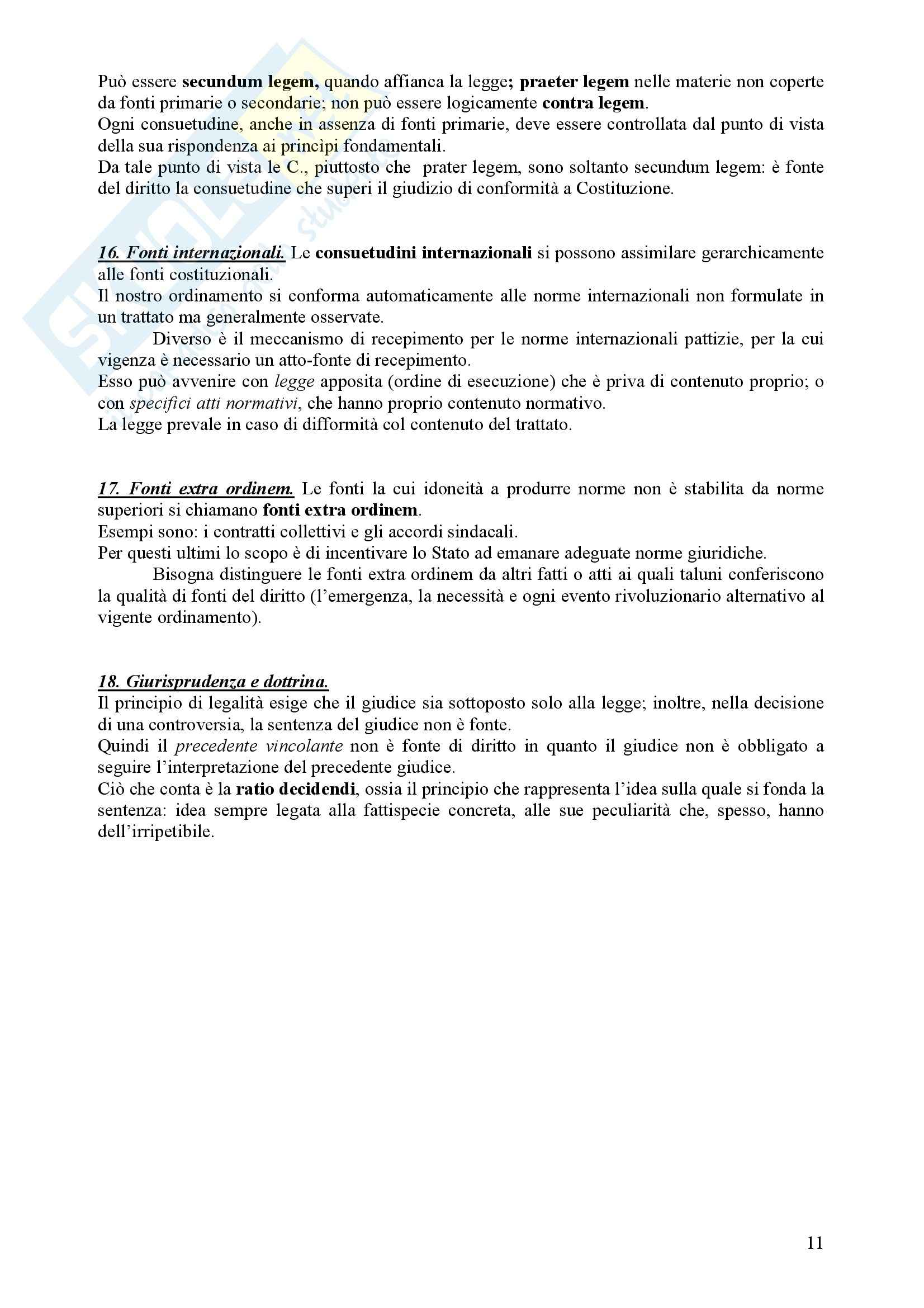 Diritto Civile - Perlingieri – Parte prima – Riassunto esame Pag. 11