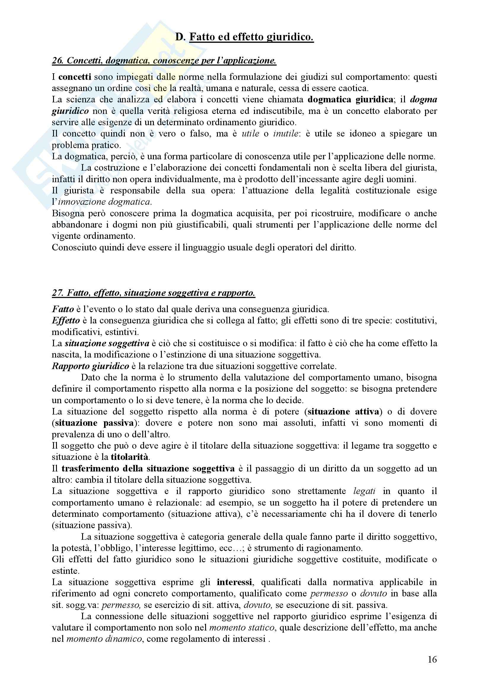 Diritto Civile - Perlingieri – Parte prima – Riassunto esame Pag. 16