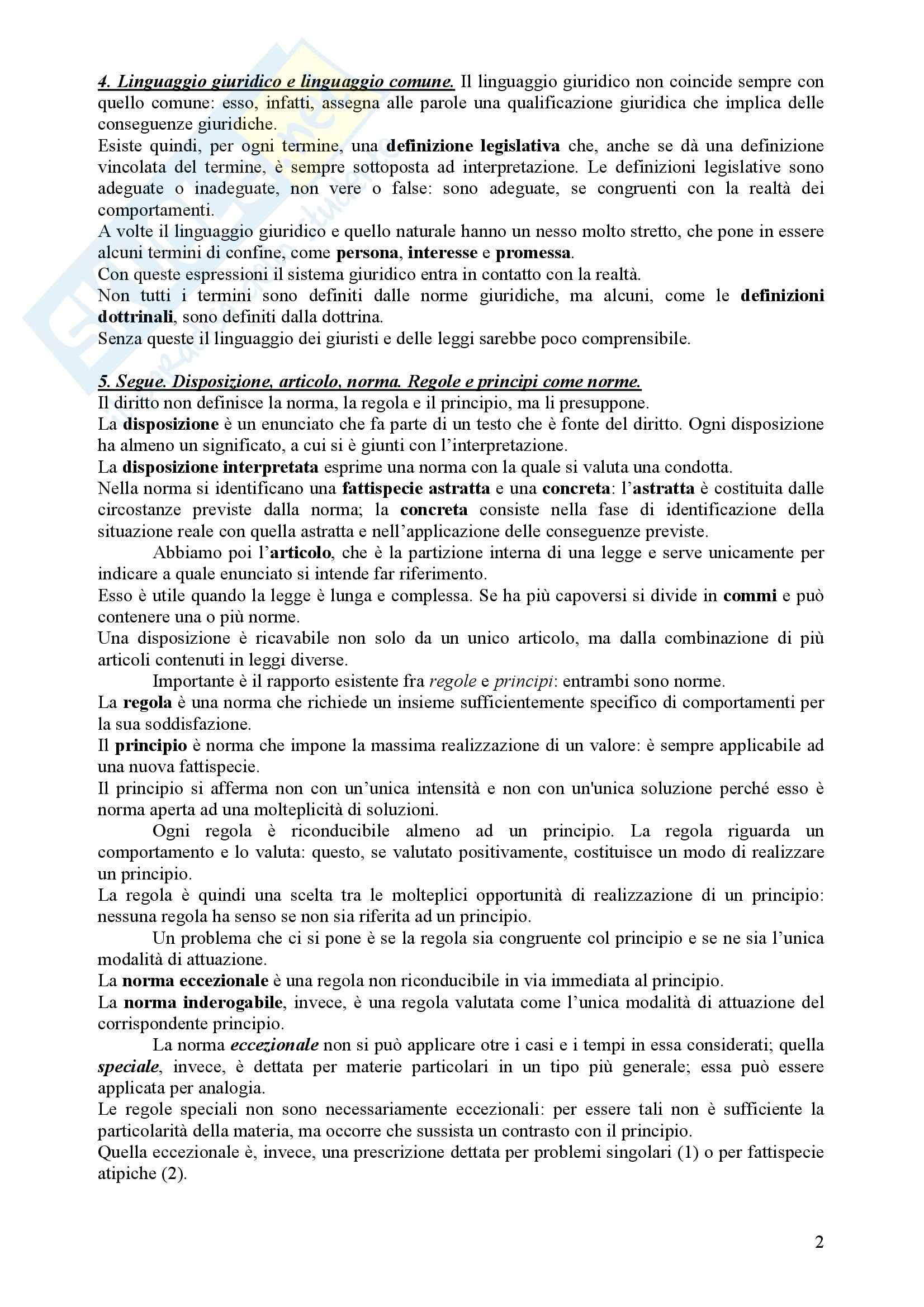 Diritto Civile - Perlingieri – Parte prima – Riassunto esame Pag. 2