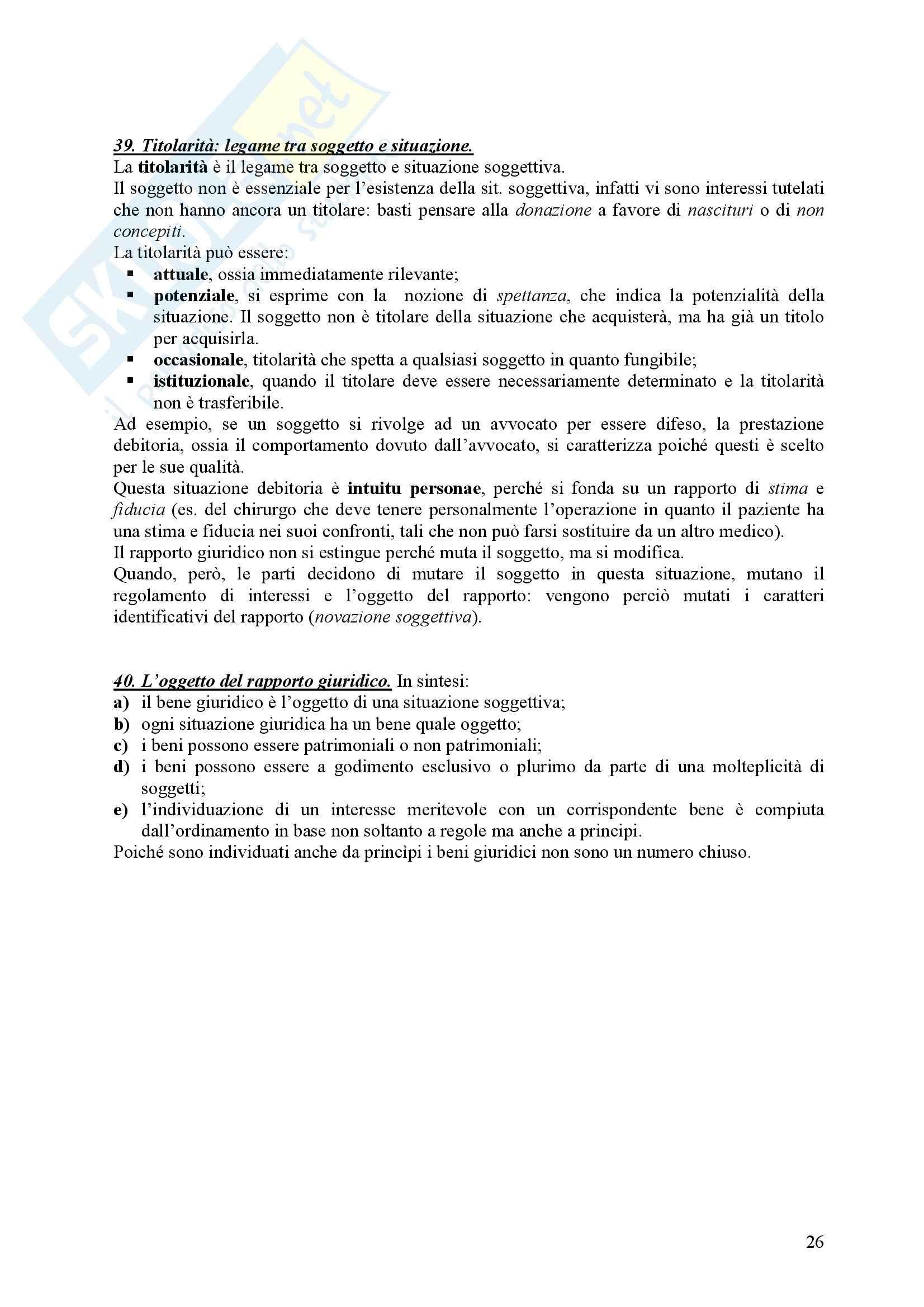 Diritto Civile - Perlingieri – Parte prima – Riassunto esame Pag. 26