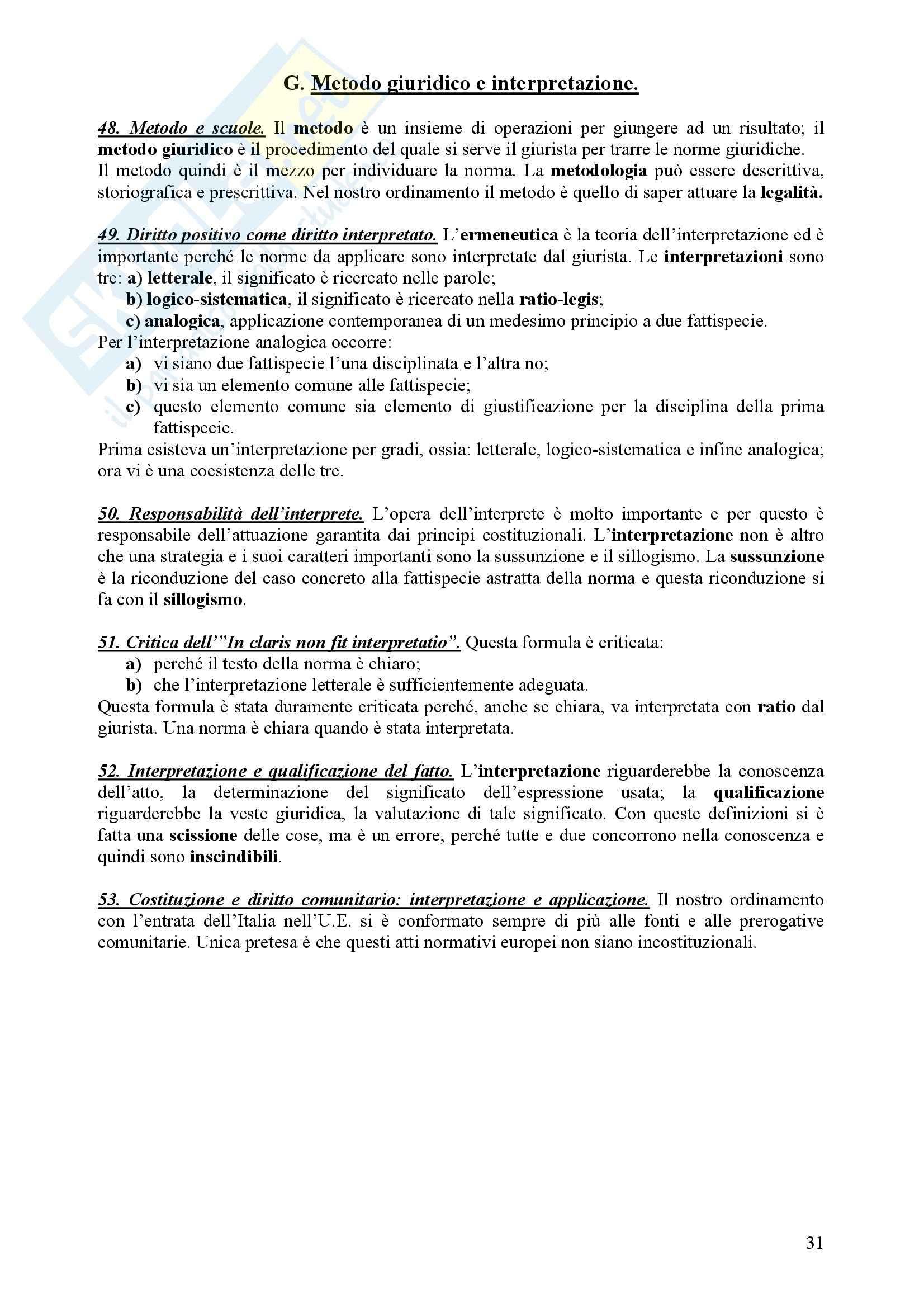 Diritto Civile - Perlingieri – Parte prima – Riassunto esame Pag. 31