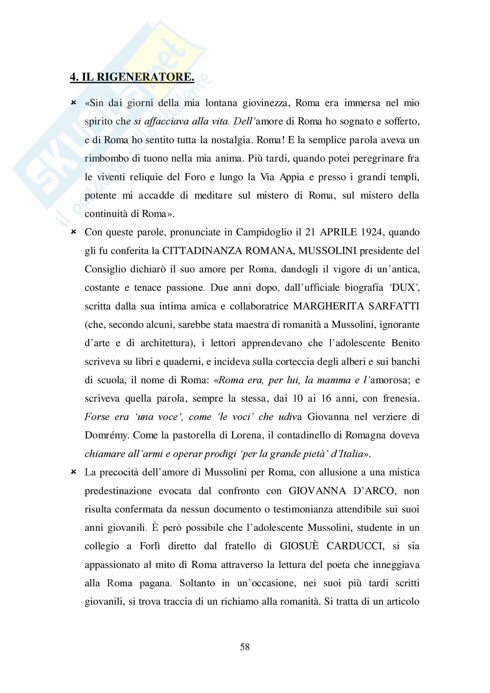 Riassunto esame Storia dell'architettura, prof. Beltramini, libro consigliato Fascismo di pietra, Gentile: seconda parte