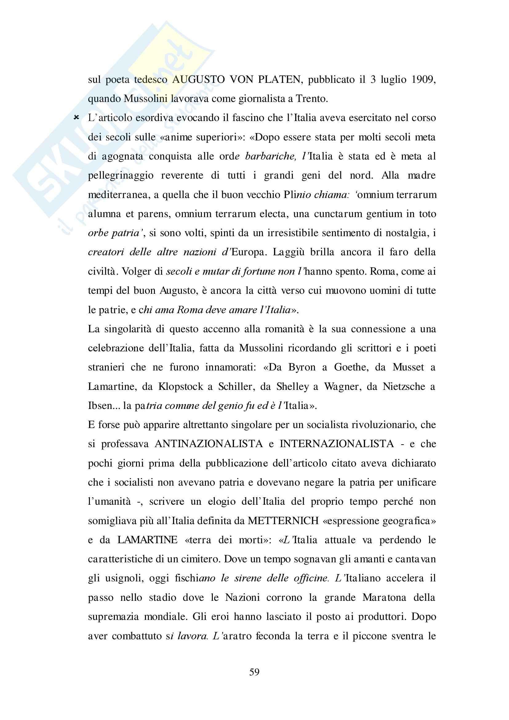 Riassunto esame Storia dell'architettura, prof. Beltramini, libro consigliato Fascismo di pietra, Gentile: seconda parte Pag. 2