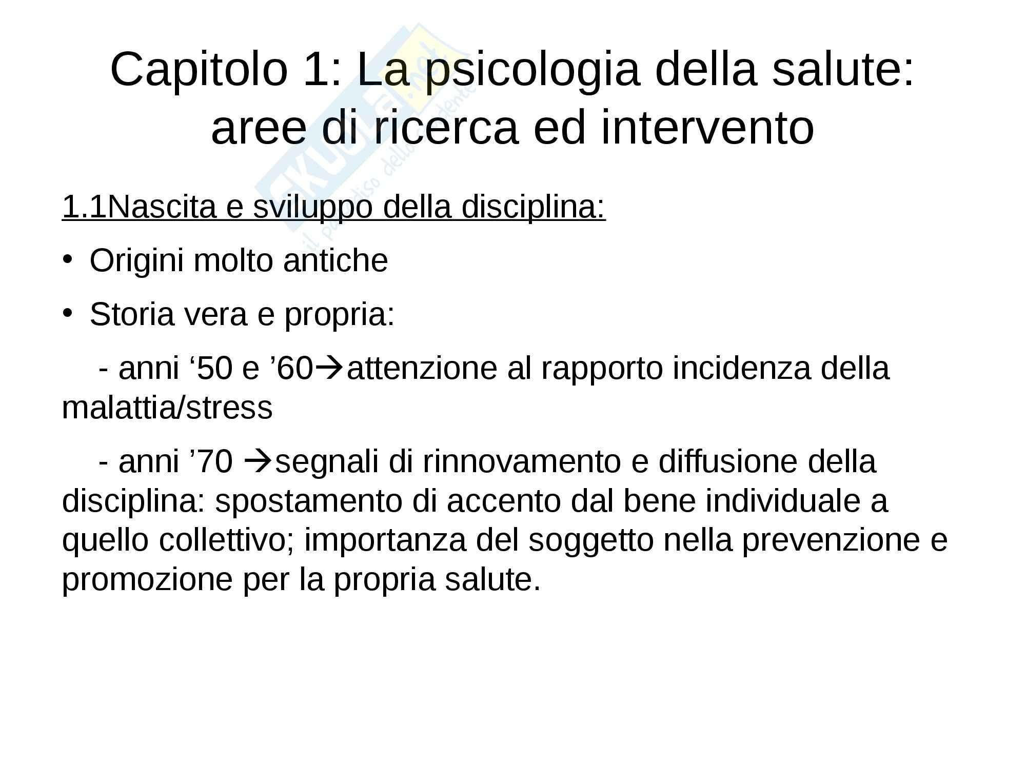 Riassunto esame Psoicologia, prof. Petrillo, libro consigliato Psicologia della salute, Zani, Cicognani Pag. 2