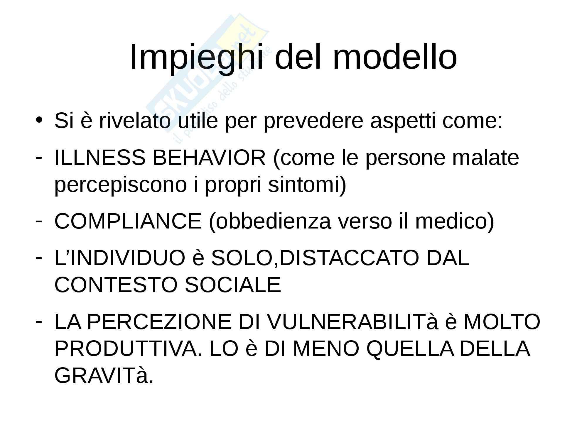 Riassunto esame Psoicologia, prof. Petrillo, libro consigliato Psicologia della salute, Zani, Cicognani Pag. 31