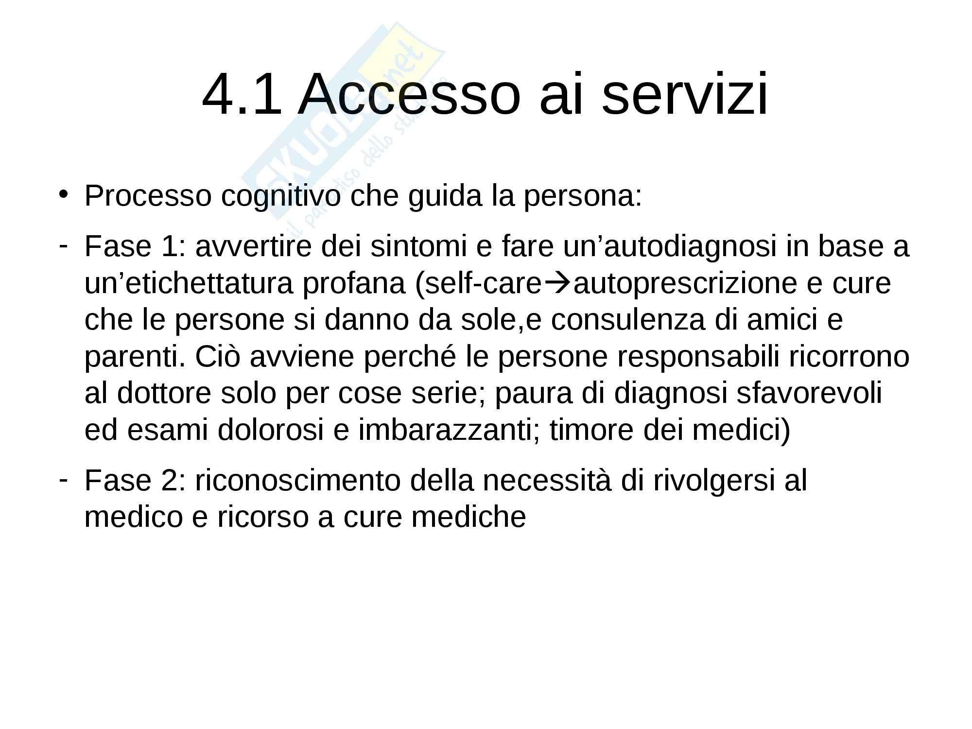Riassunto esame Psoicologia, prof. Petrillo, libro consigliato Psicologia della salute, Zani, Cicognani Pag. 96