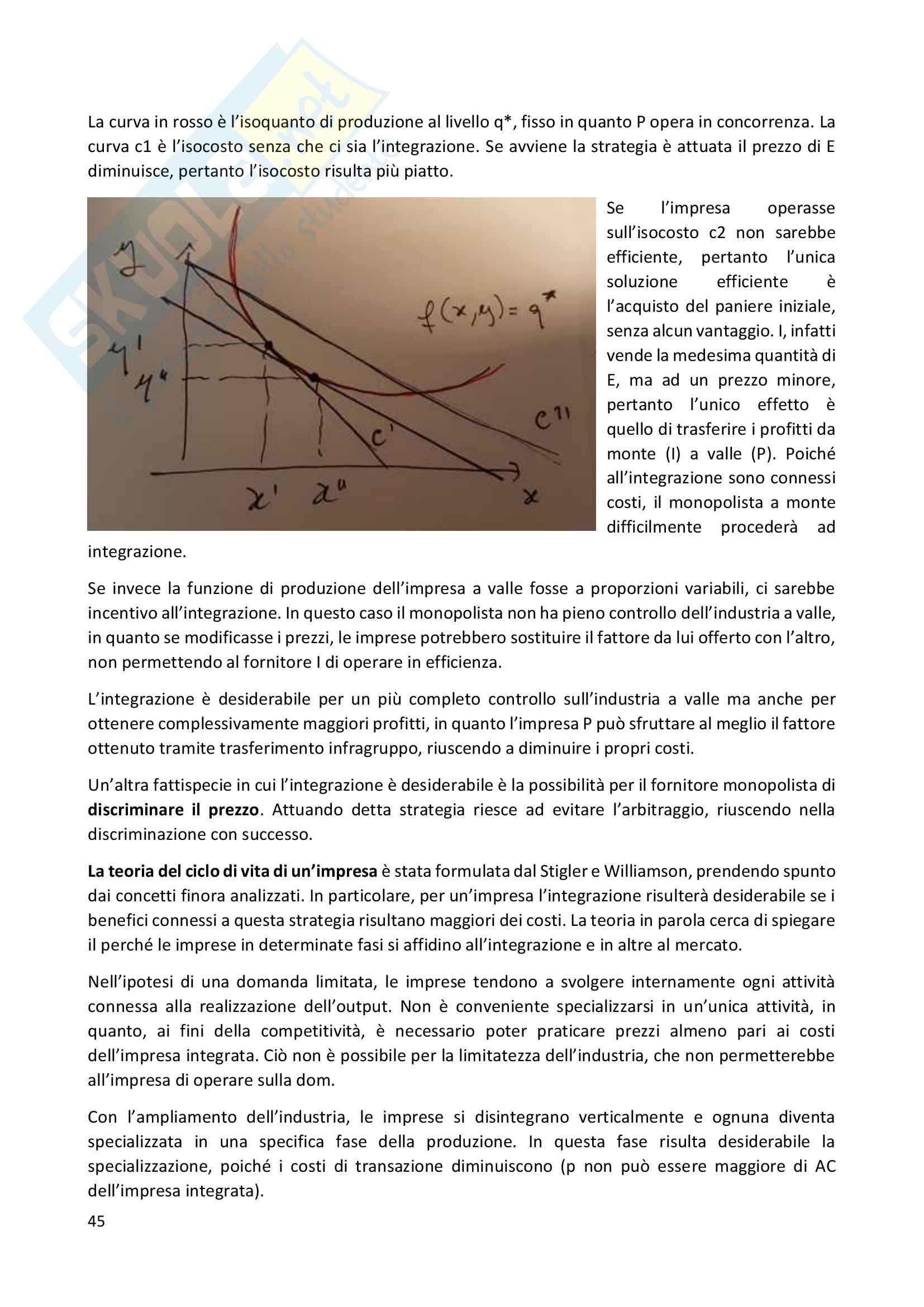 Economia industriale Pag. 46