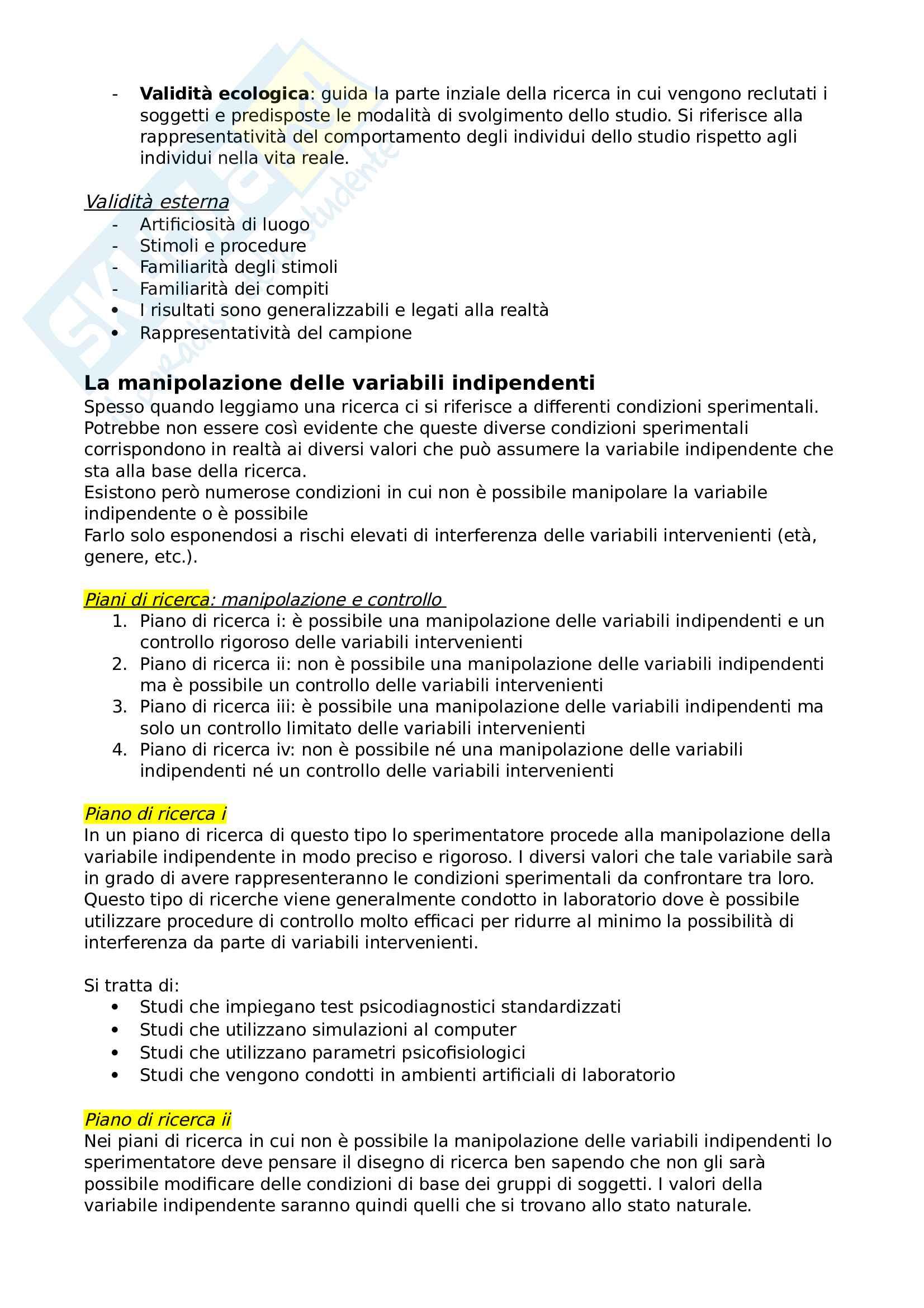 Psicologia dello sviluppo e psicologia dell'educazione Pag. 6