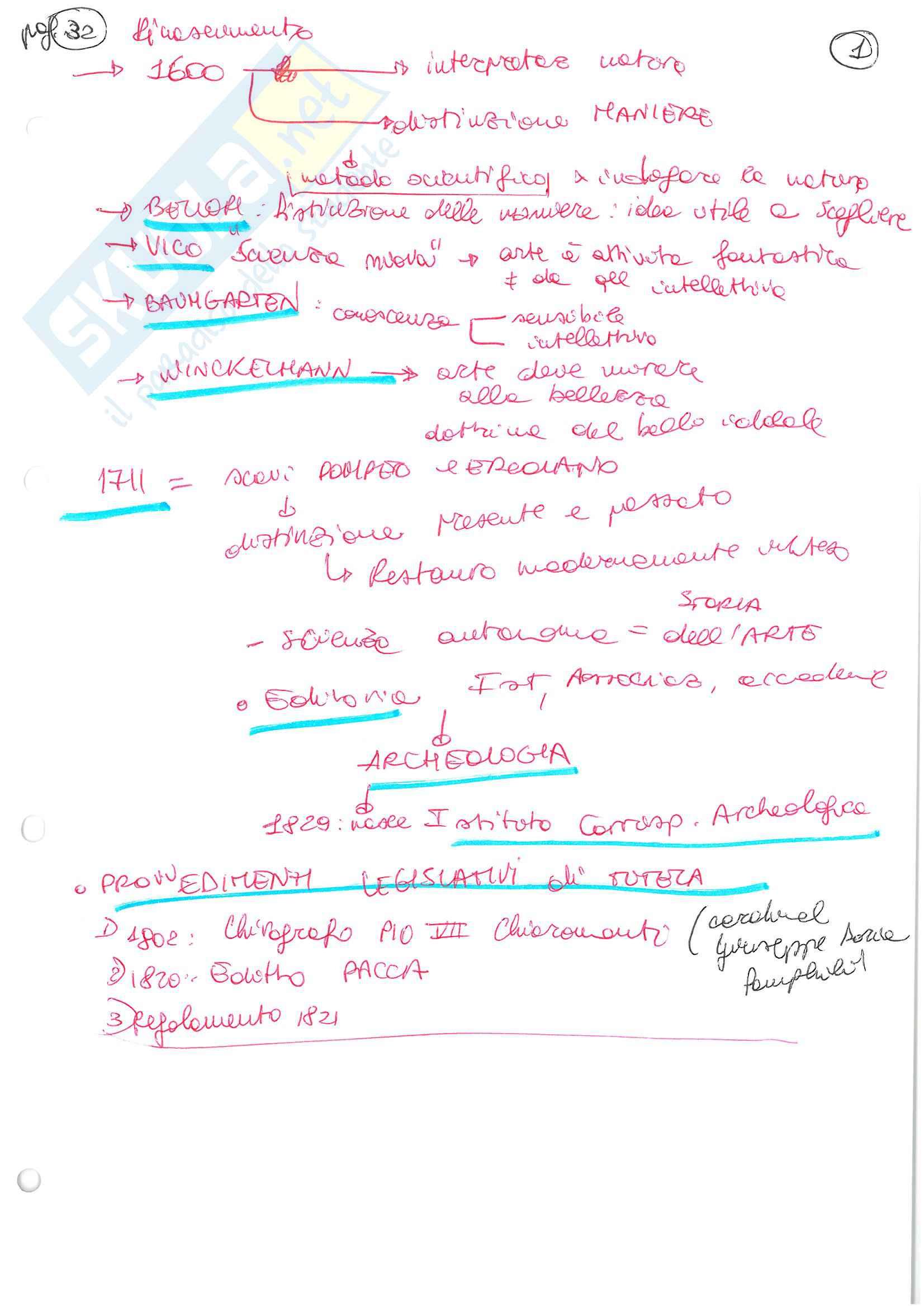 Schemi dell'esame di Restauro architettonico con laboratorio progettuale, libro consigliato Il restauro in architettura. Quadro storico, Sette, Docente: Turco Maria Grazia Pag. 2
