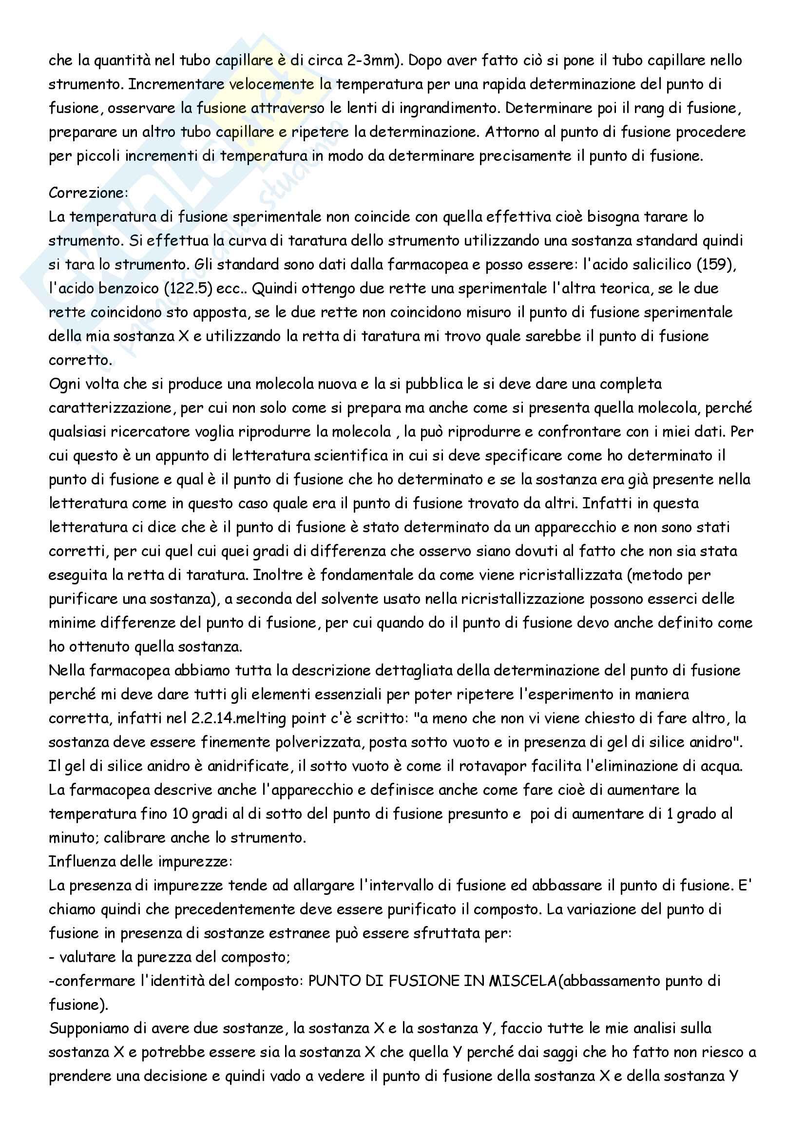Appunti di Analisi chimico-farmaceutica II Pag. 11