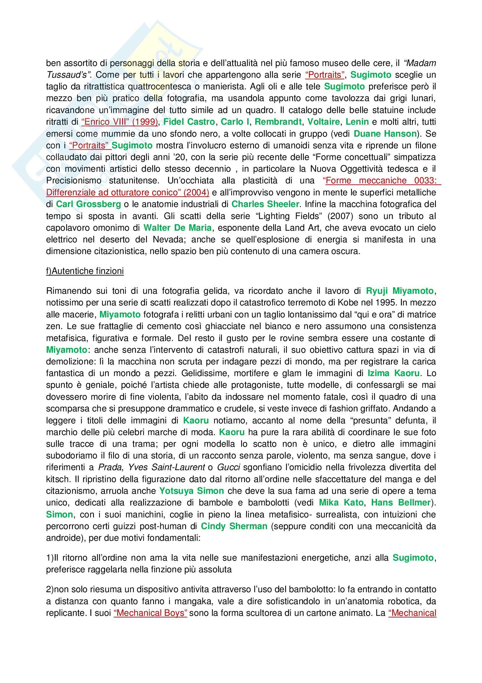 Riassunto esame Tecniche dell'Arte Contemporanea, prof. Fabbri, libro consigliato Lo Zen e il Manga Pag. 26