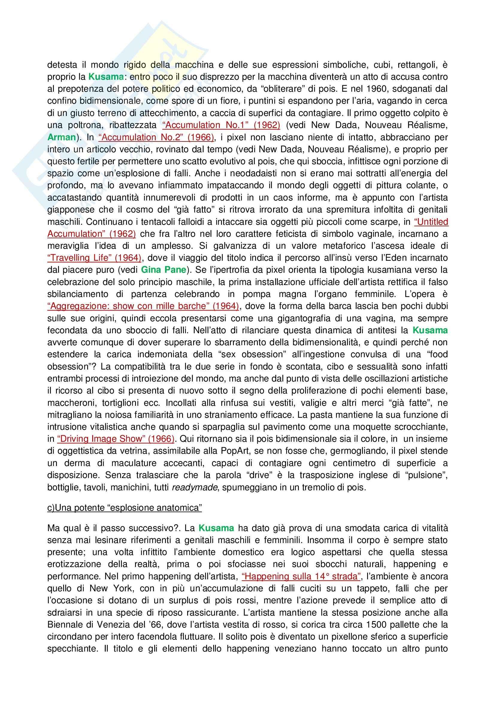 Riassunto esame Tecniche dell'Arte Contemporanea, prof. Fabbri, libro consigliato Lo Zen e il Manga Pag. 6