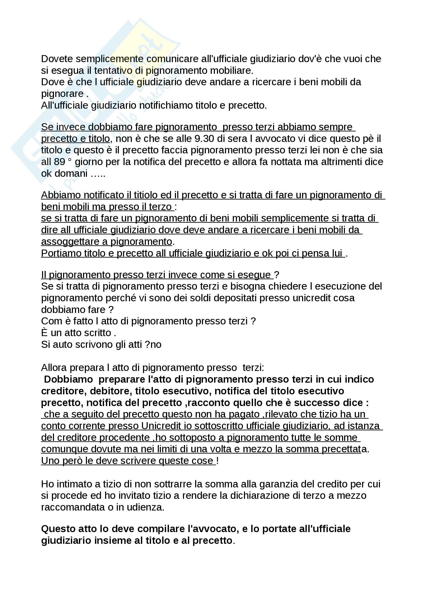 Lezione 19, Procedura civile Pag. 21