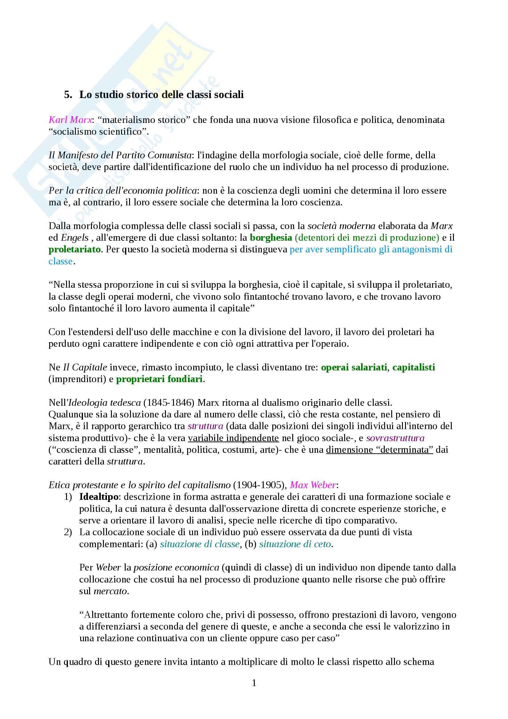 Riassunto esame Storia Contemporanea, prof. Adorno, libro consigliato Le Questioni dell'Età Contemporanea, Banti