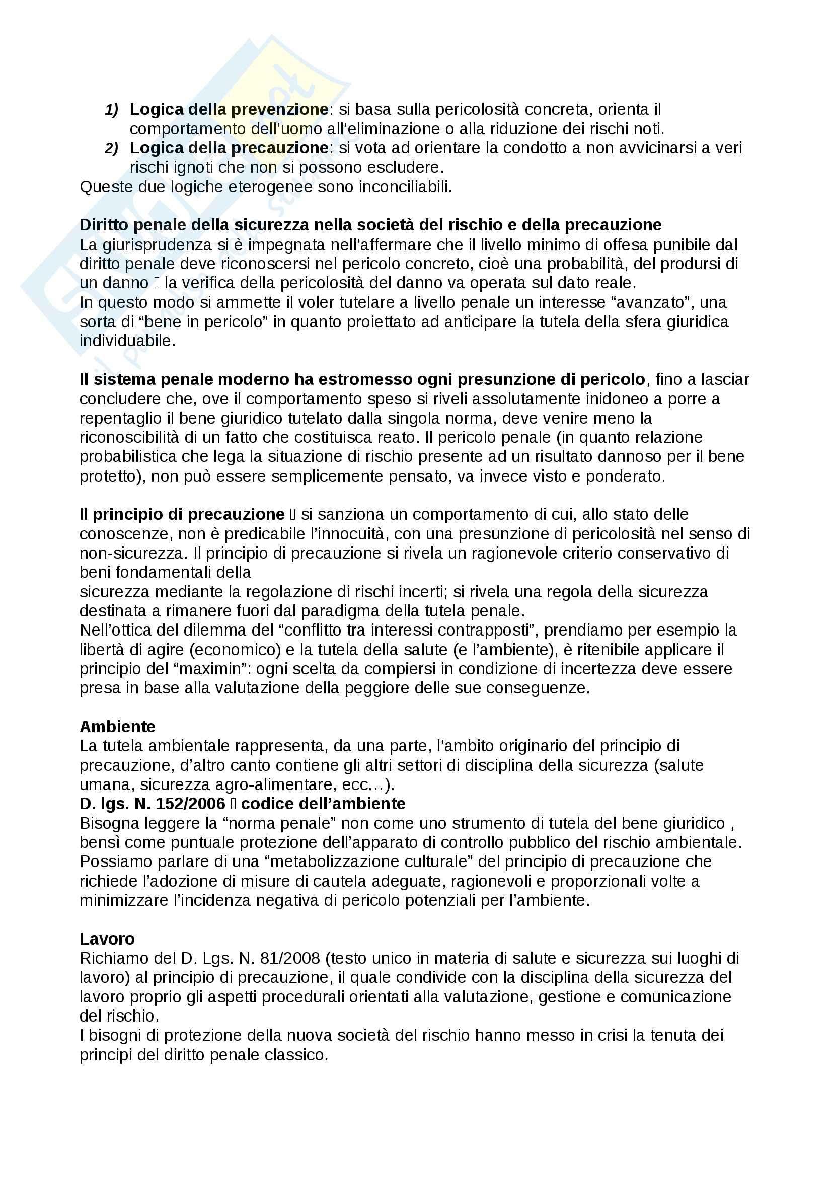 Riassunto esame Sociologia, prof. Federici, libro consigliato La sicurezza umana: un paradigma sociologico, Federici Pag. 11