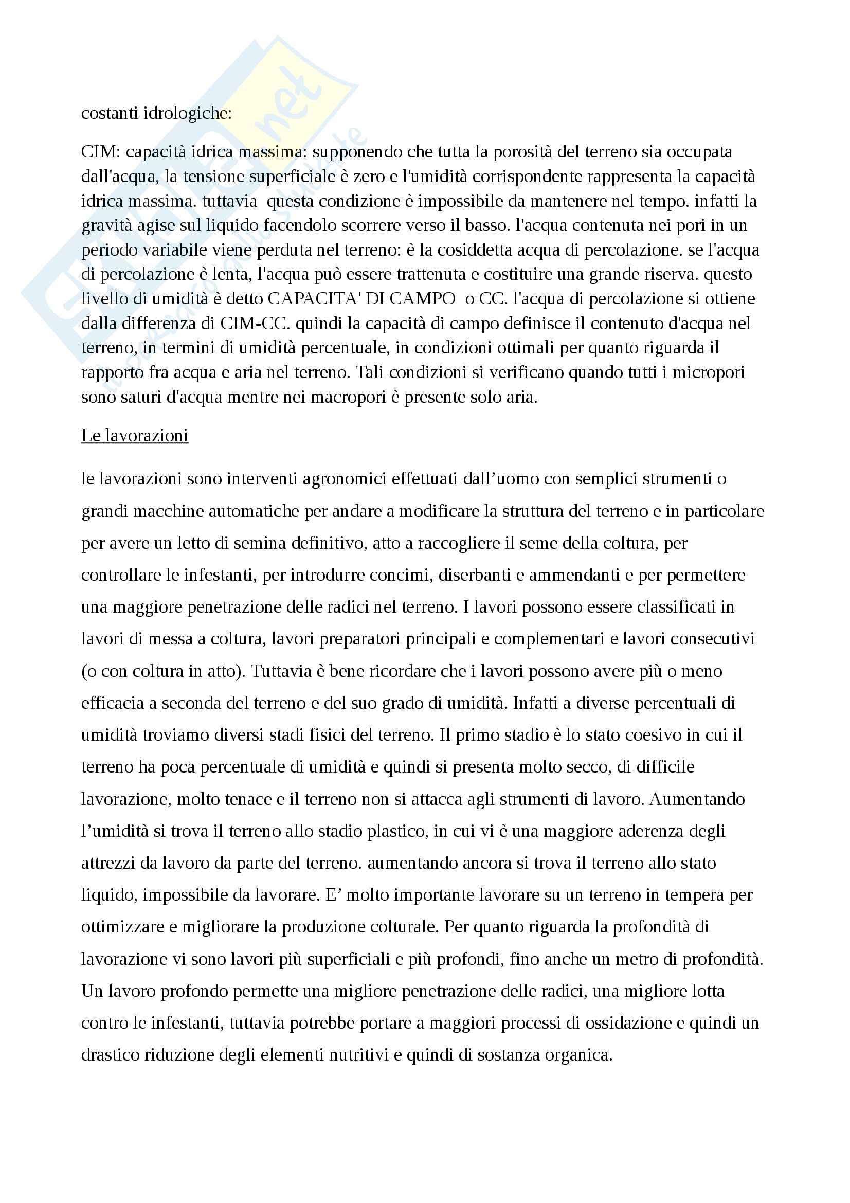 Agronomia Generale Pag. 11