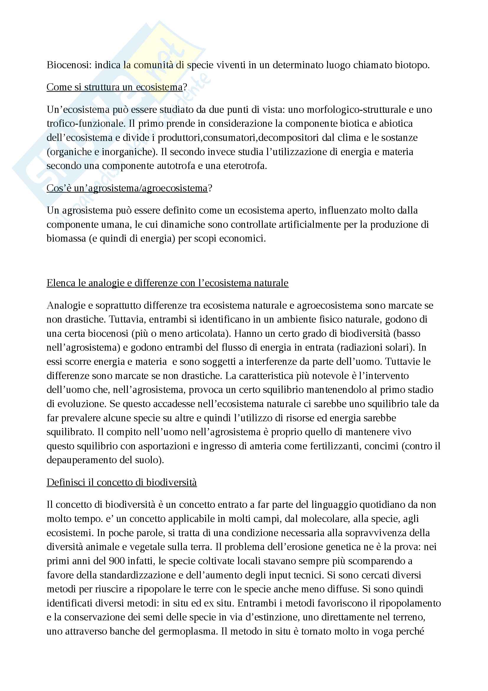Agronomia Generale Pag. 2