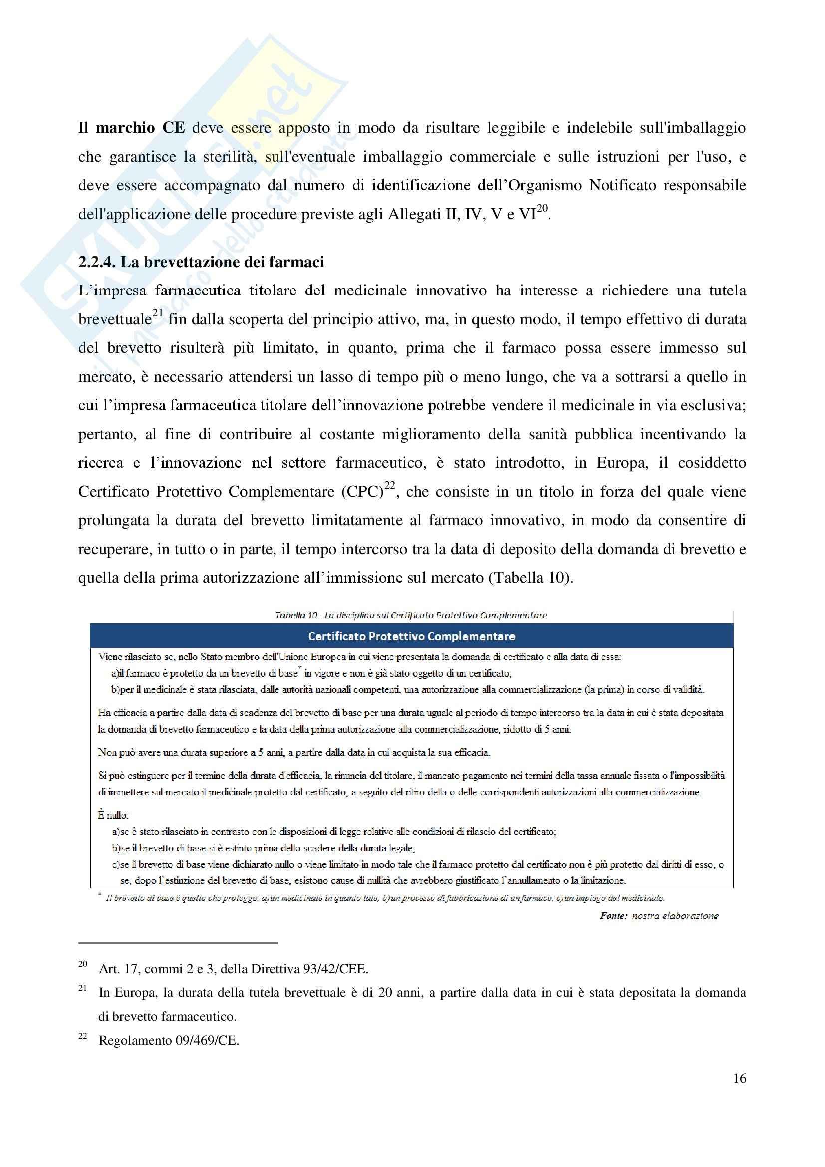 Tesi - Il lancio di nuovi prodotti nel mercato pharma Pag. 16