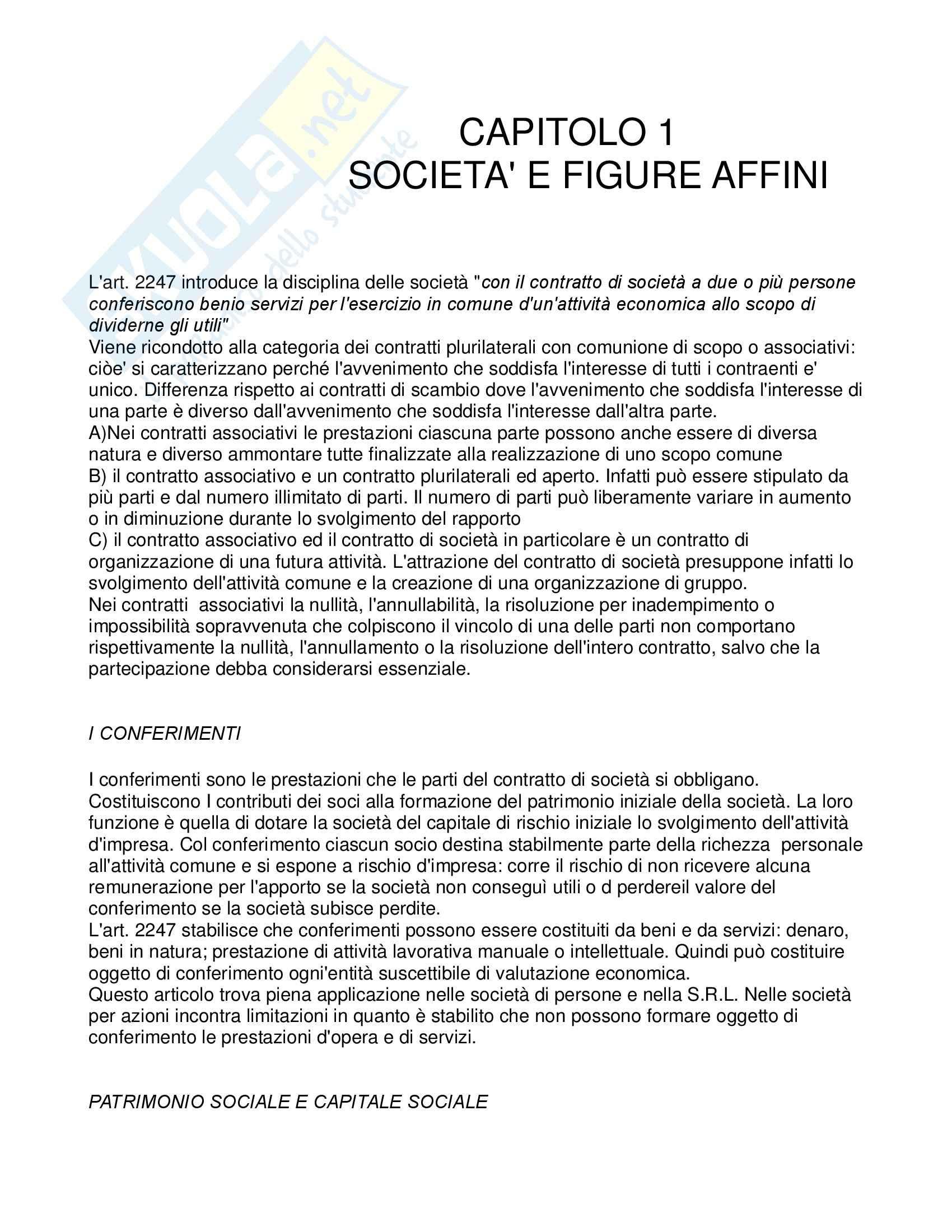 Riassunto esame Diritto Commerciale, prof. Pellegrino, libro consigliato Diritto commerciale, Presti, Rescigno