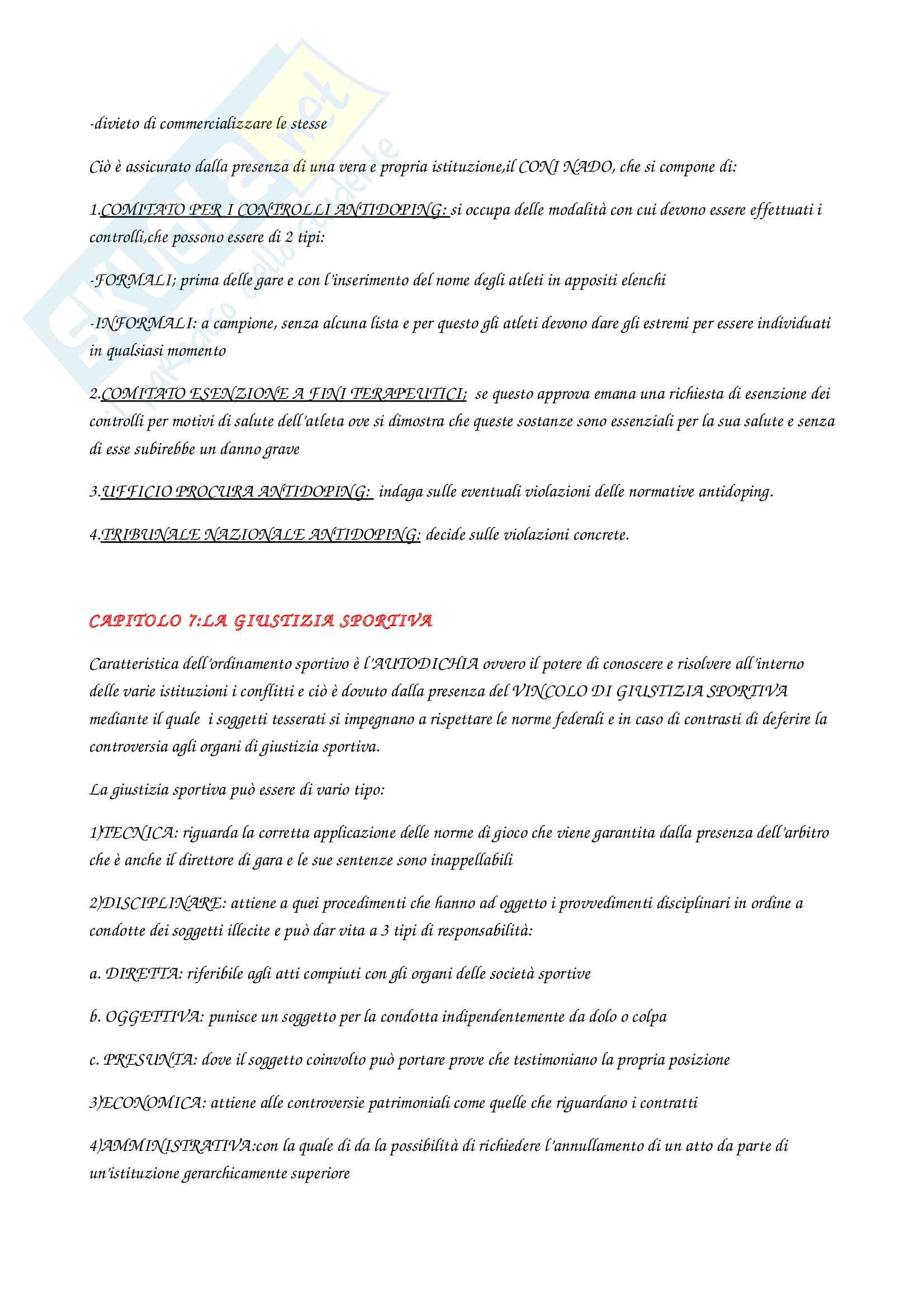 Diritto sportivo Pag. 21