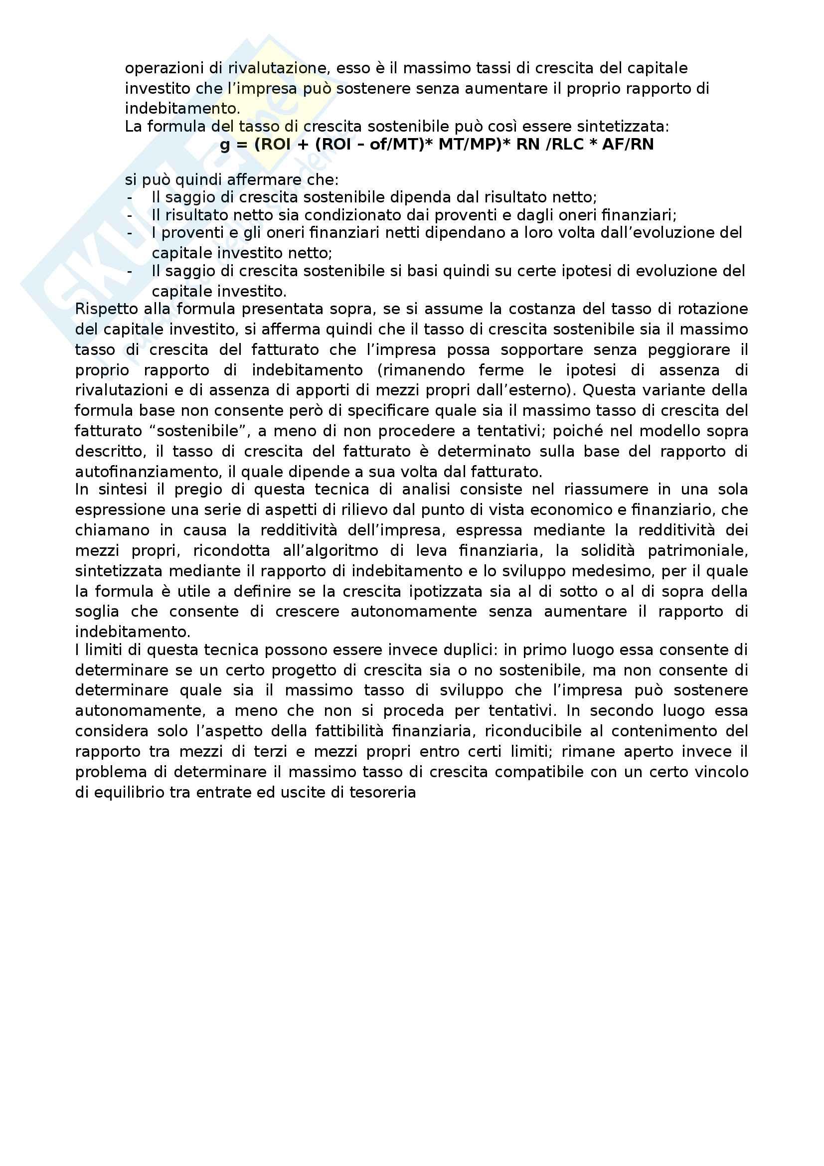 Apppunti di Metodologie 2 (bilancio consolidato e analisi di bilancio) + temi d'esame svolti Pag. 106