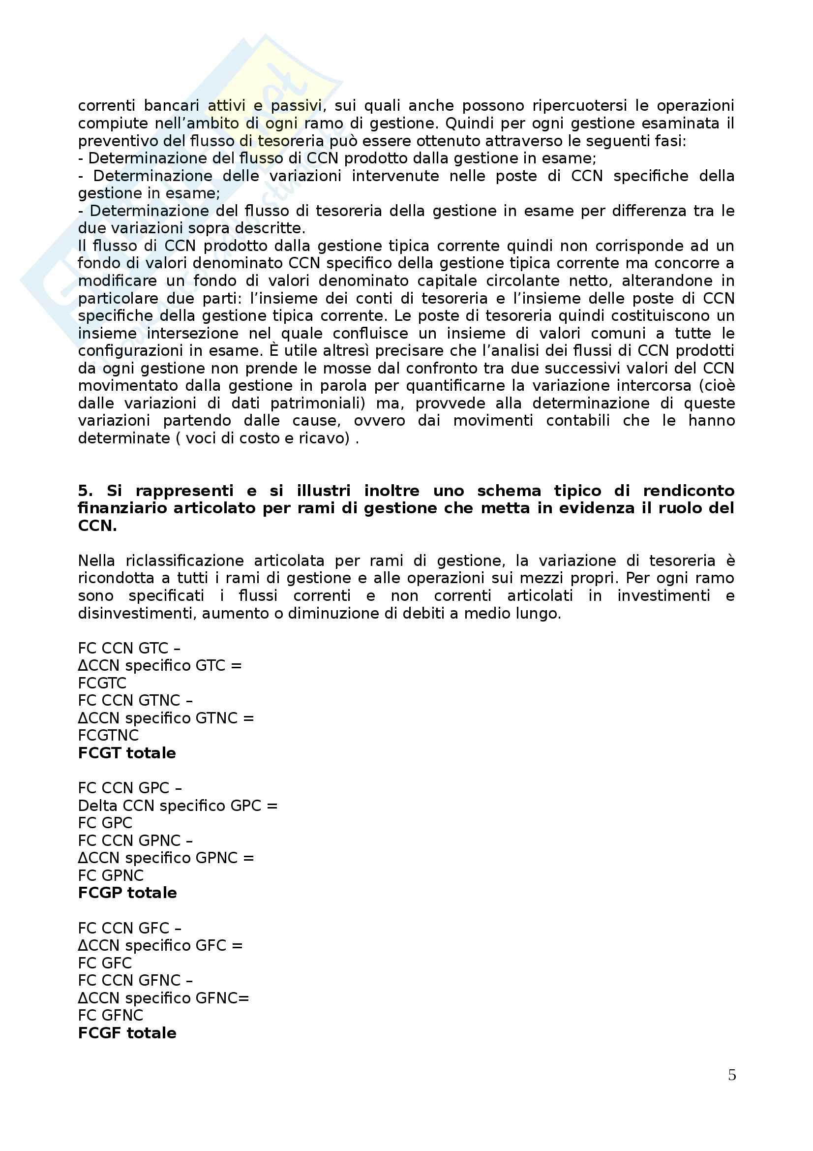 Apppunti di Metodologie 2 (bilancio consolidato e analisi di bilancio) + temi d'esame svolti Pag. 111