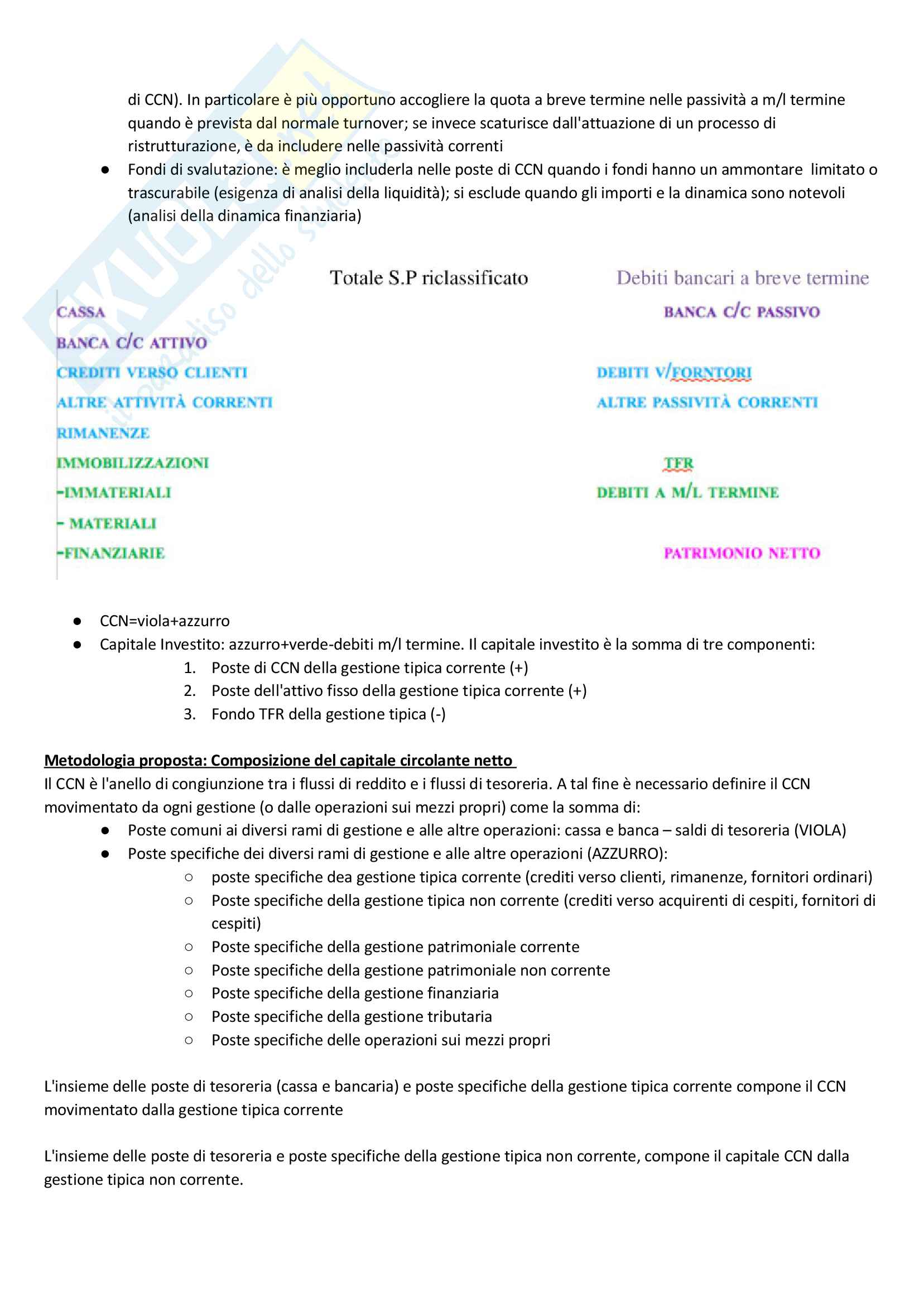 Apppunti di Metodologie 2 (bilancio consolidato e analisi di bilancio) + temi d'esame svolti Pag. 41