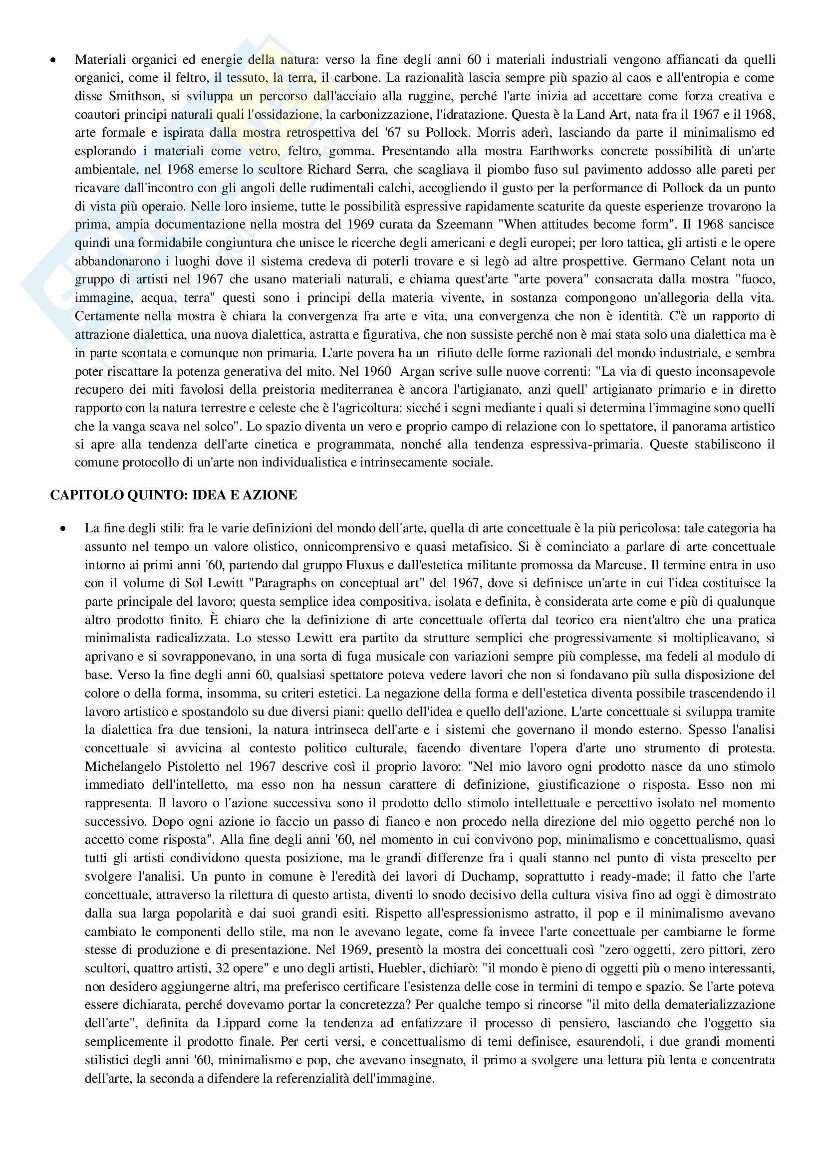 Riassunto esame Storia dell'arte contemporanea, prof. Messina, libro consigliato L'arte contemporanea, .Del Puppo Pag. 6