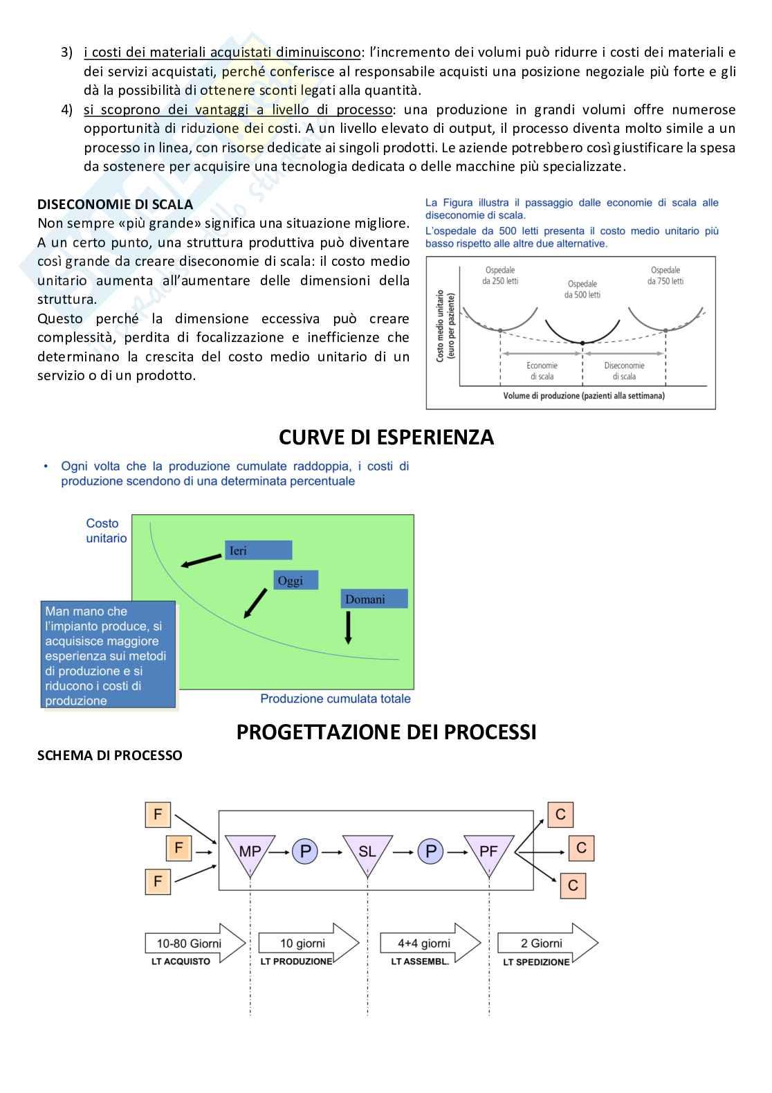Gestione della produzione e logistica Pag. 11