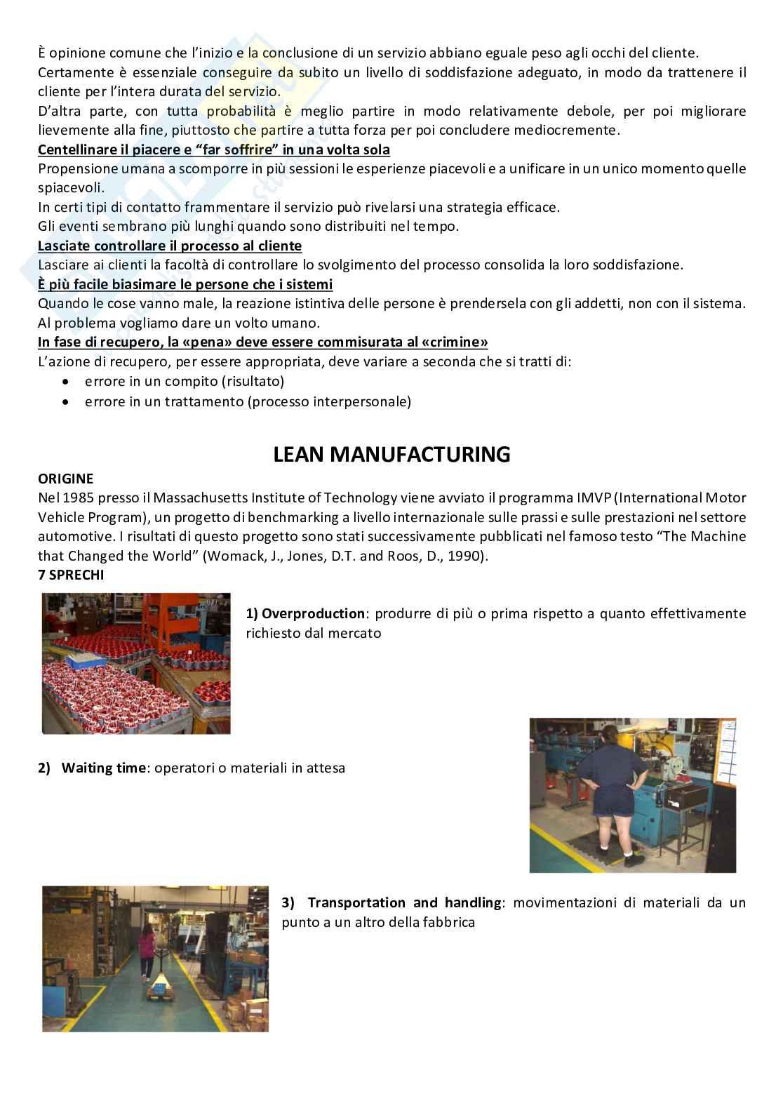 Gestione della produzione e logistica Pag. 16